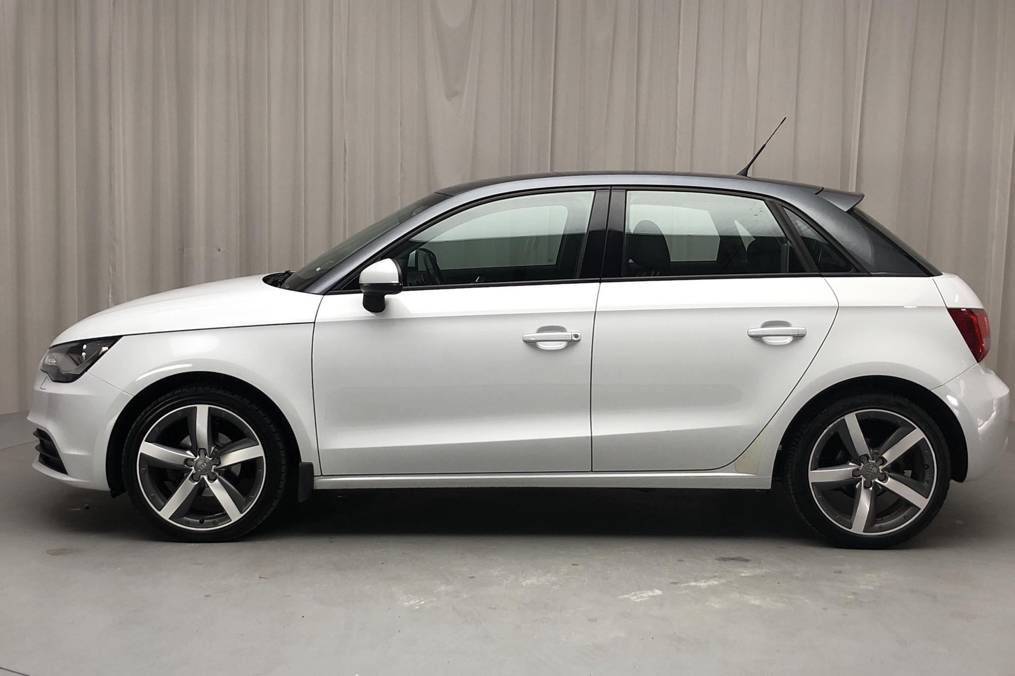 Audi A1 1.2 TFSI Sportback (86hk) - 71 380 km - Manual - white - 2012