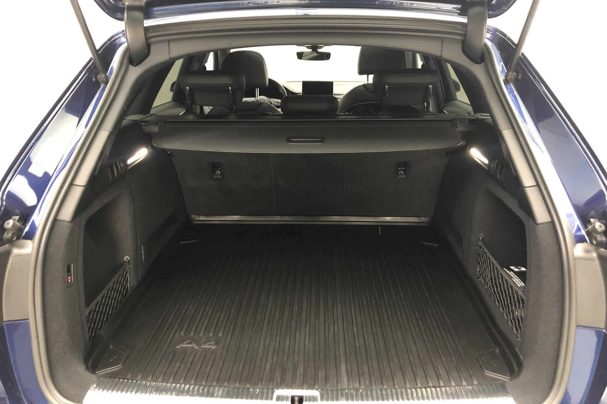 Audi A4 2.0 TDI Avant quattro (190hk) - 8 547 mil - Automat - blå - 2016