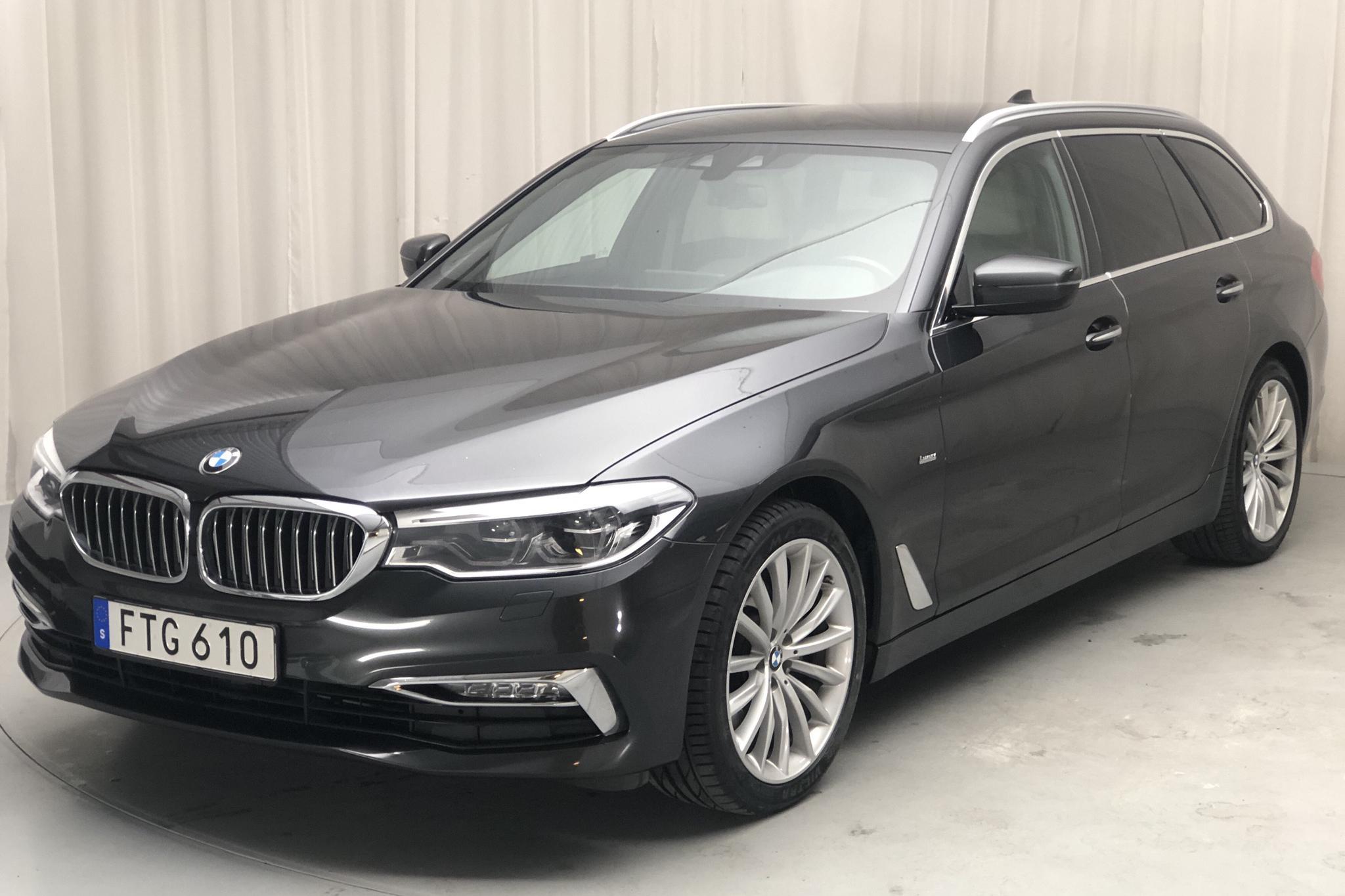 BMW 520d Touring, G31 (190hk) - 11 125 mil - Automat - grå - 2018