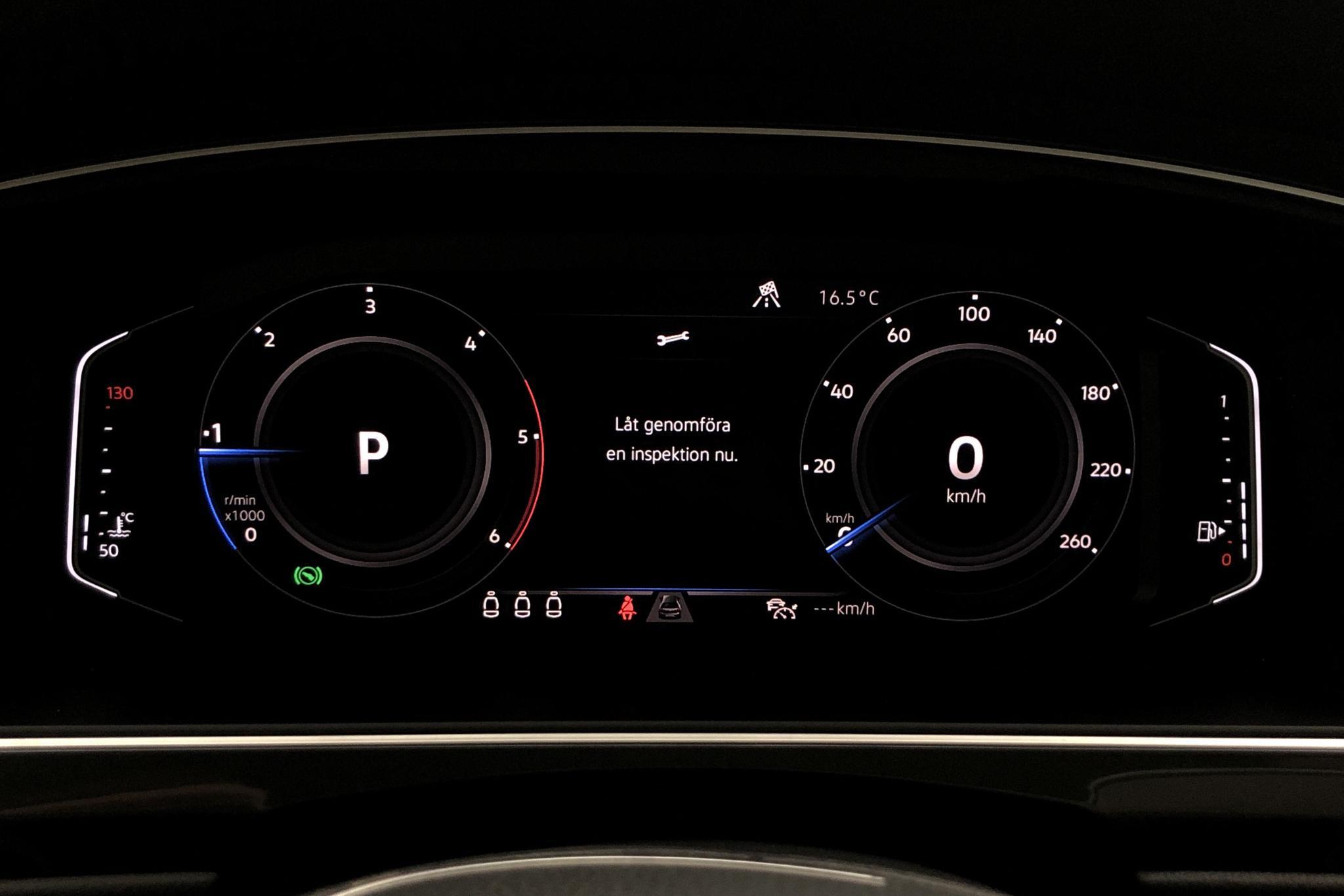 VW Tiguan 2.0 TDI 4MOTION (190hk) - 54 810 km - Automatic - white - 2019