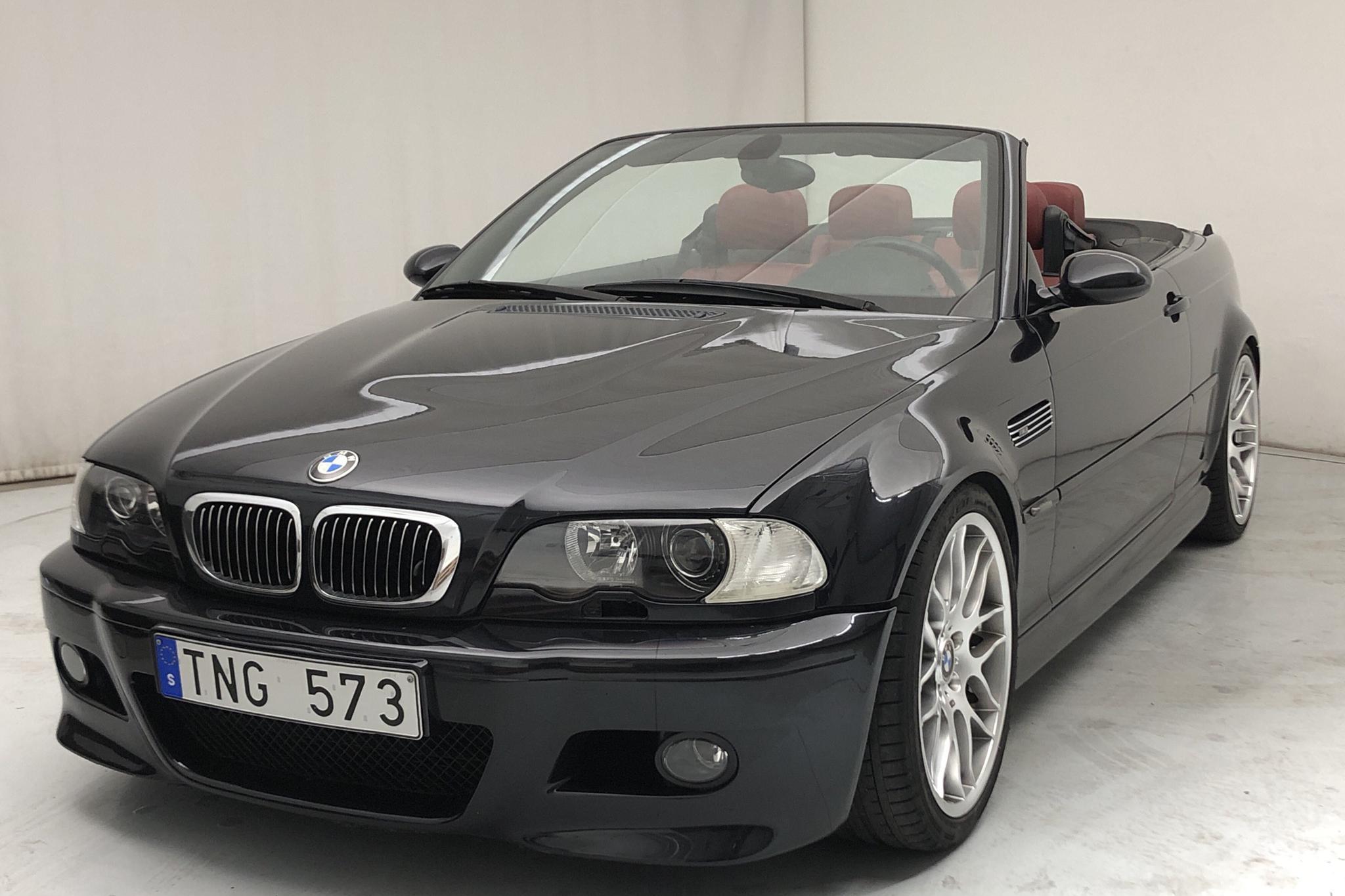 BMW M3 Cabriolet, E46 (343hk) - 131 280 km - Automatic - black - 2002