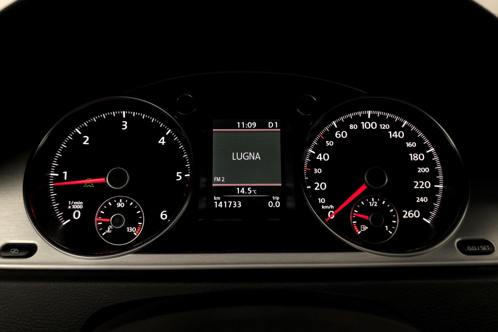 VW Passat Alltrack 2.0 TDI BlueMotion Technology 4Motion (170hk) - 141 730 km - Automatic - Dark Blue - 2012