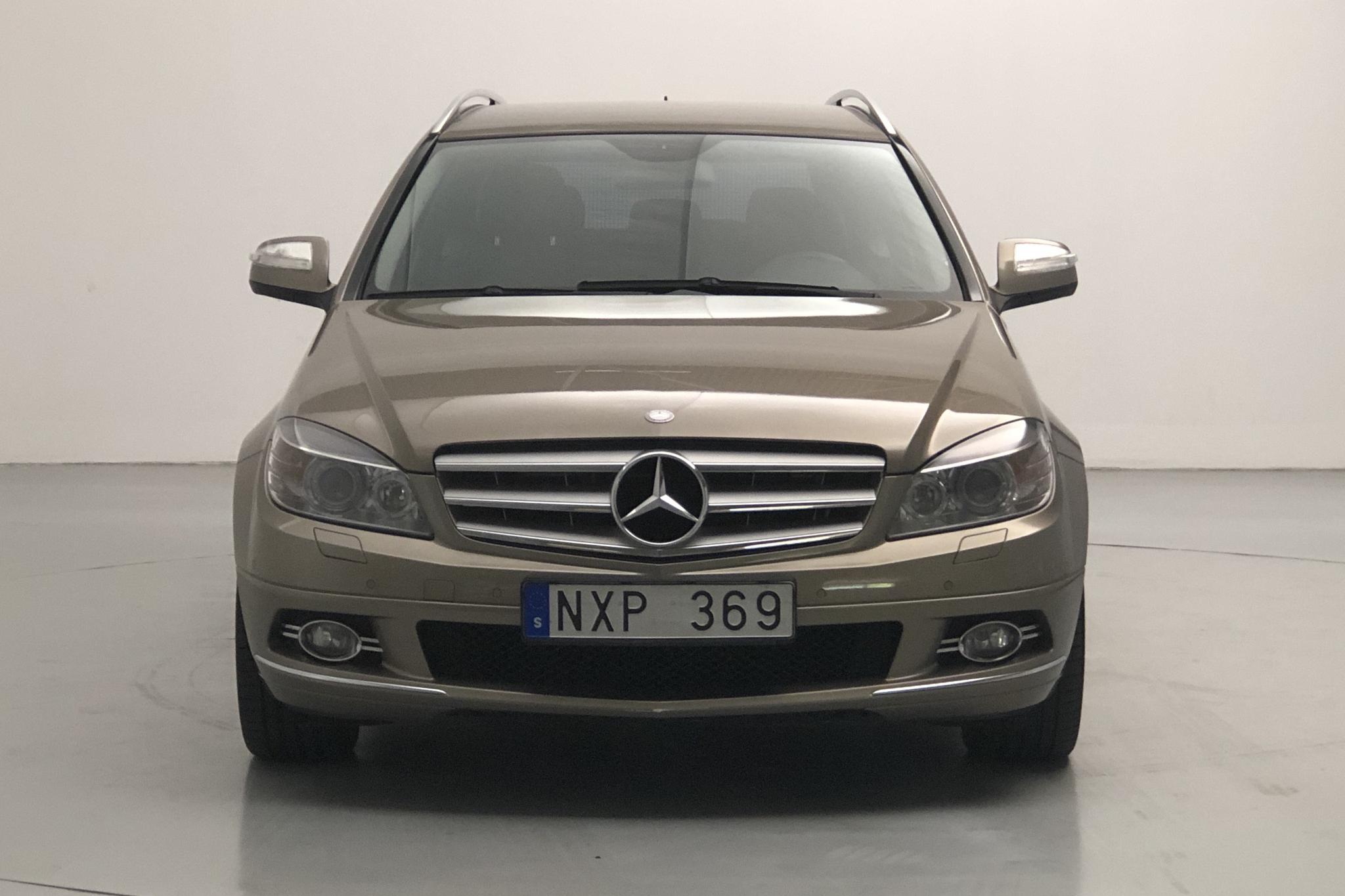 Mercedes C 200 Kompressor Kombi S204 (184hk) - 17 776 mil - Automat - Light Brown - 2008