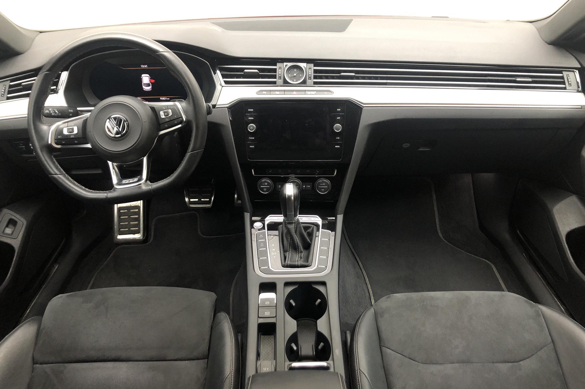 VW Arteon 2.0 TDI 4MOTION (240hk) - 9 581 mil - Automat - Dark Red - 2018