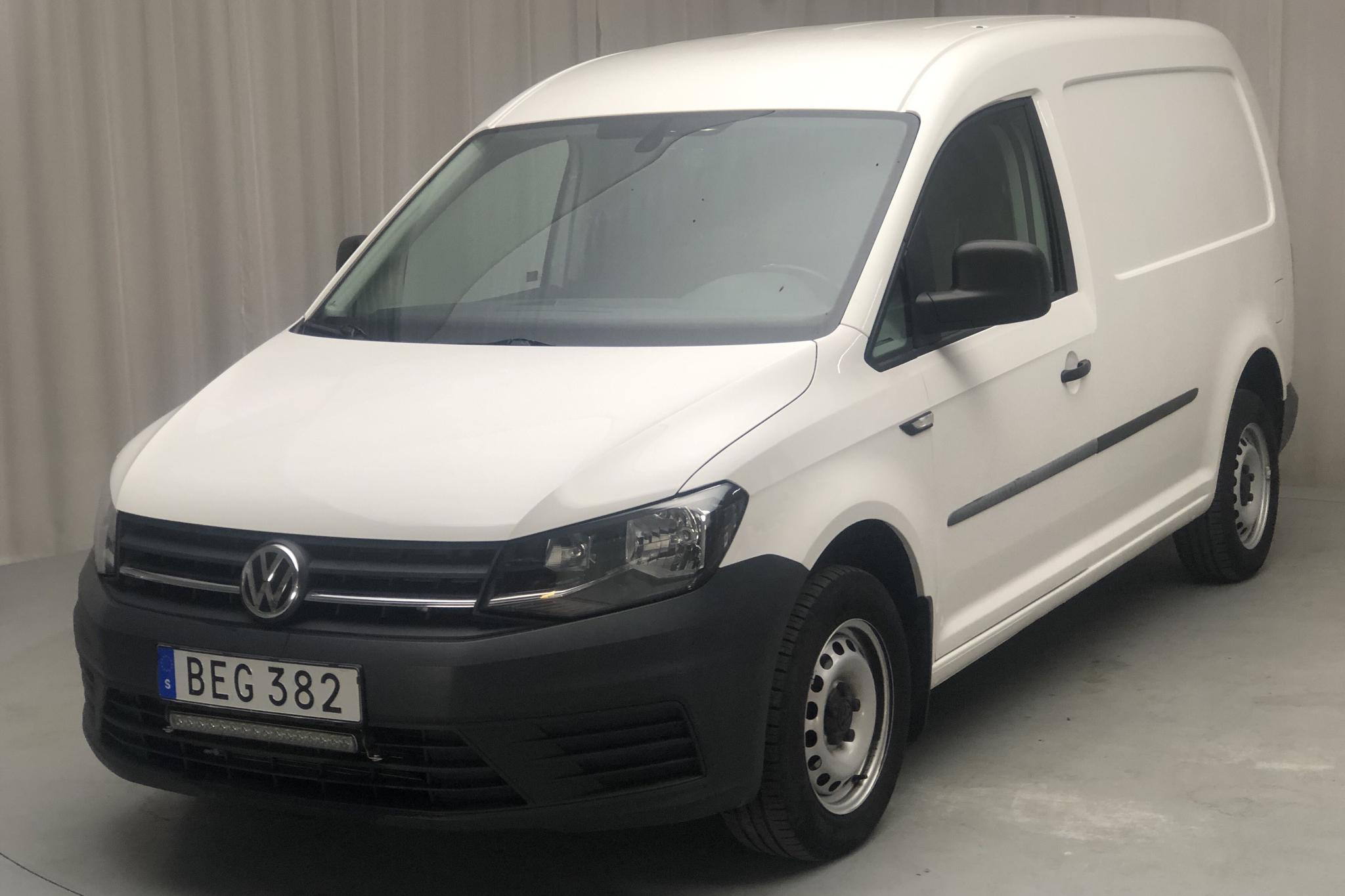 VW Caddy 2.0 TDI Maxi Skåp (102hk) - 39 250 km - Manual - white - 2018