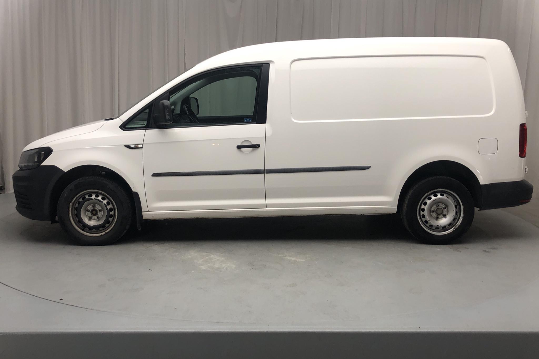 VW Caddy 2.0 TDI Maxi Skåp (102hk) - 102 290 km - Manual - white - 2017
