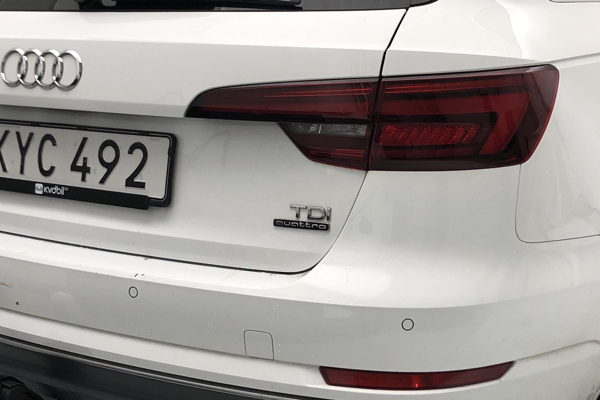 Audi A4 2.0 TDI Avant quattro (190hk) - 126 740 km - Automatic - white - 2018