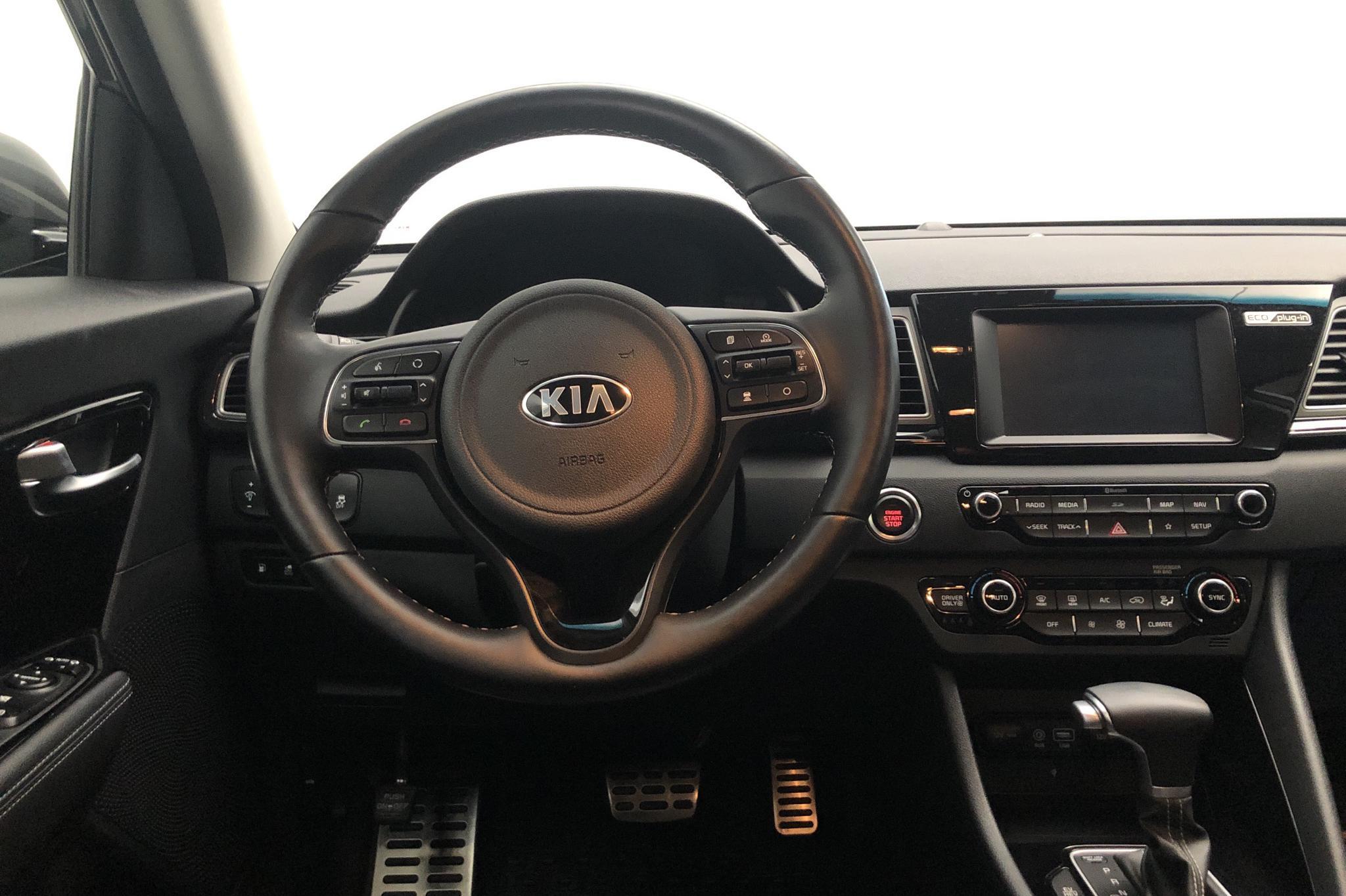 KIA Niro Plug-in Hybrid 1.6 (141hk) - 24 920 km - Automatic - gray - 2019