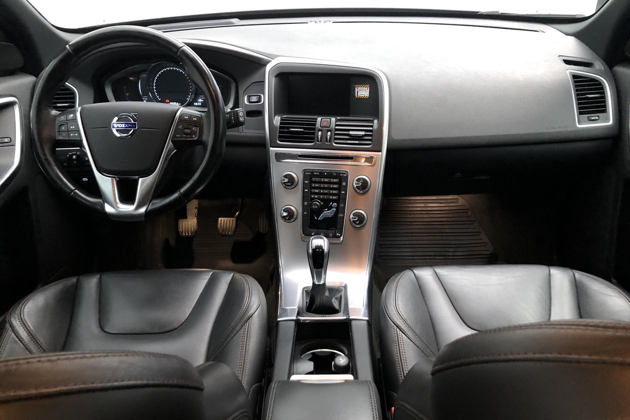 Volvo XC60 D4 2WD (190hk) - 125 020 km - Manual - gray - 2017