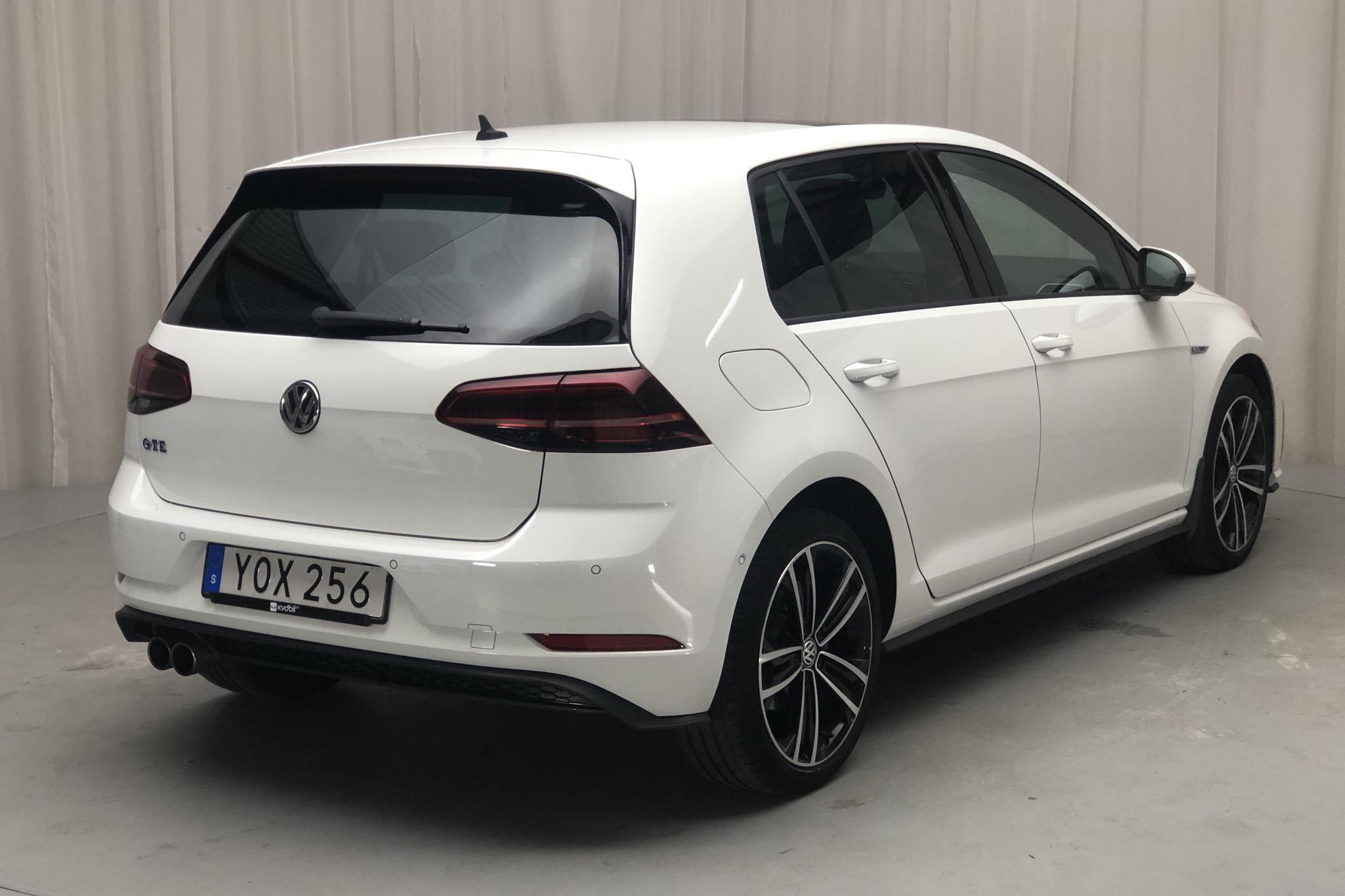 VW Golf VII GTE 5dr (204hk) - 47 940 km - Automatic - white - 2018