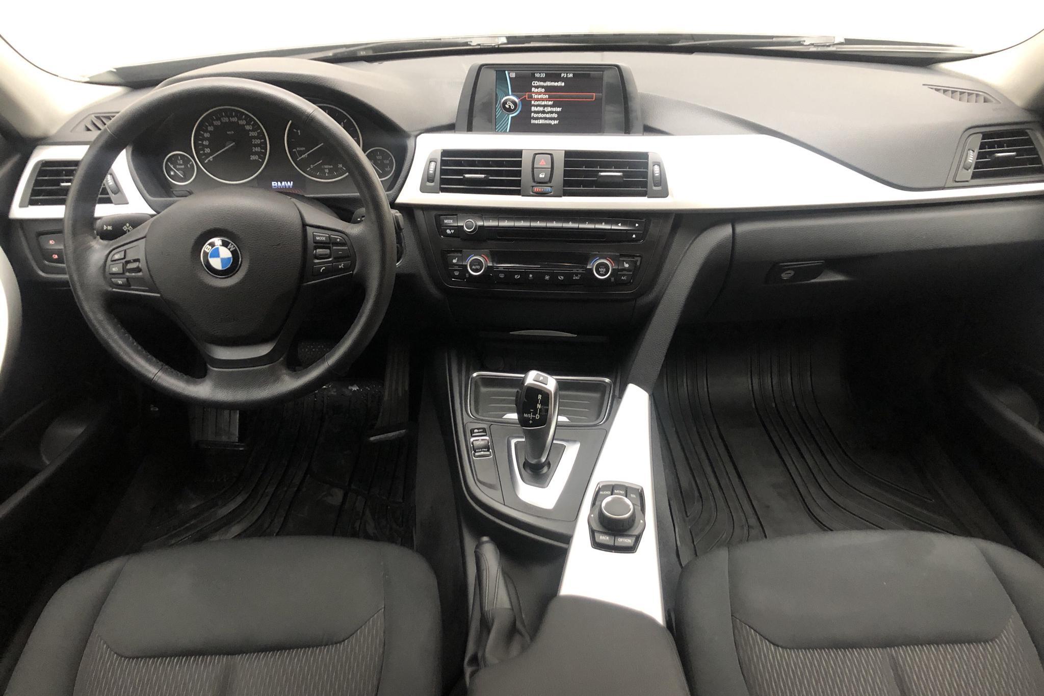 BMW 320d Sedan, F30 (184hk) - 94 770 km - Automatic - black - 2013