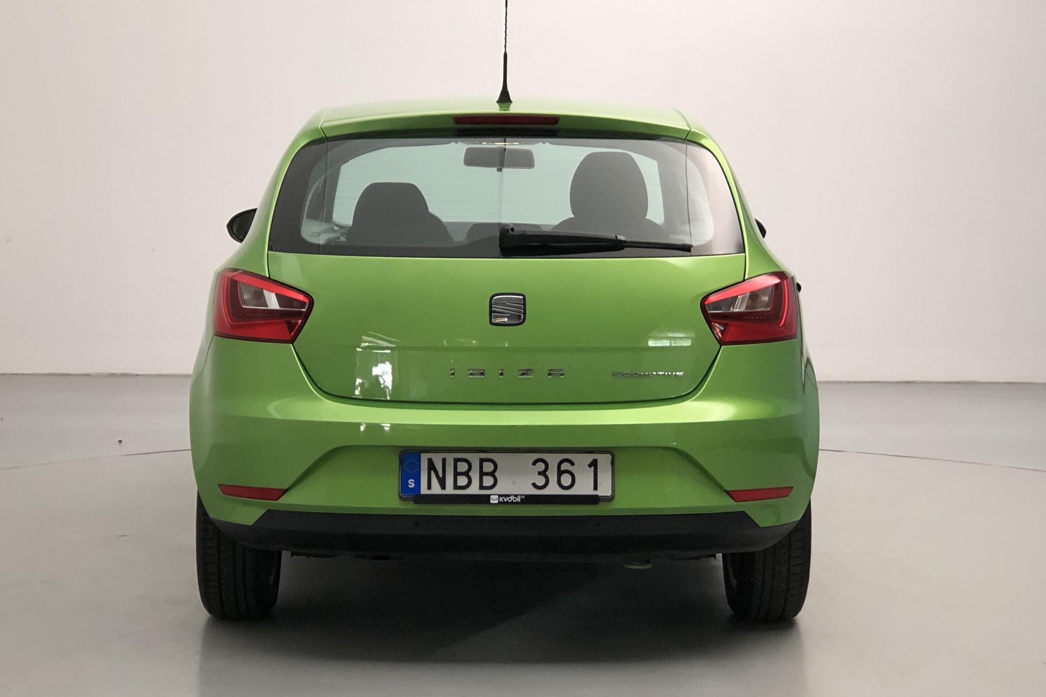 Seat Ibiza 1.2 TSI 5dr (105hk) - 130 190 km - Manual - green - 2013