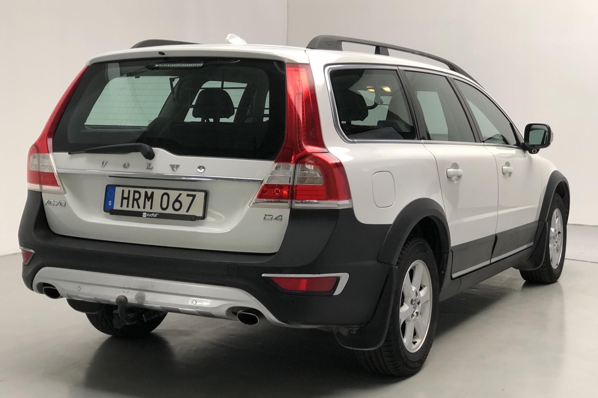 Volvo XC70 II D4 2WD (181hk) - 13 016 mil - Manuell - vit - 2015