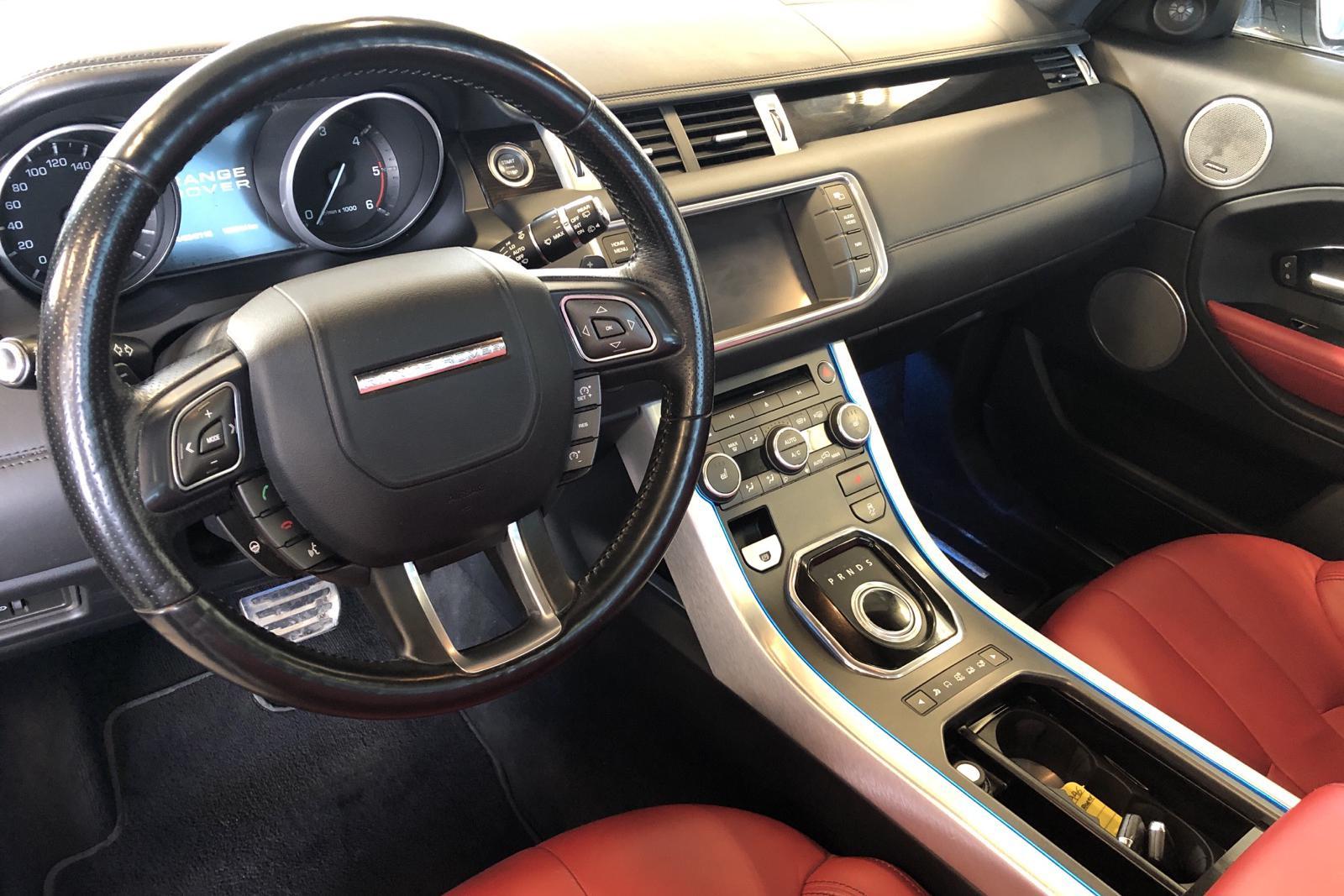 Land Rover Range Rover Evoque 2.2 SD4 Coupé (190hk) - 13 204 mil - Automat - vit - 2012