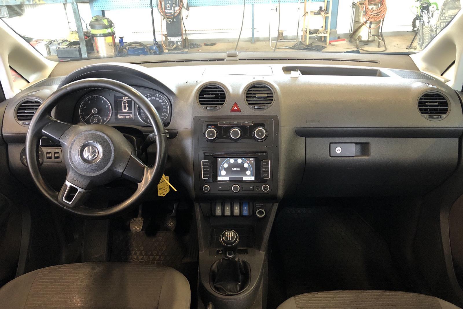 VW Caddy MPV Maxi 2.0 EcoFuel (109hk) - 74 858 mil - Manuell - 2015