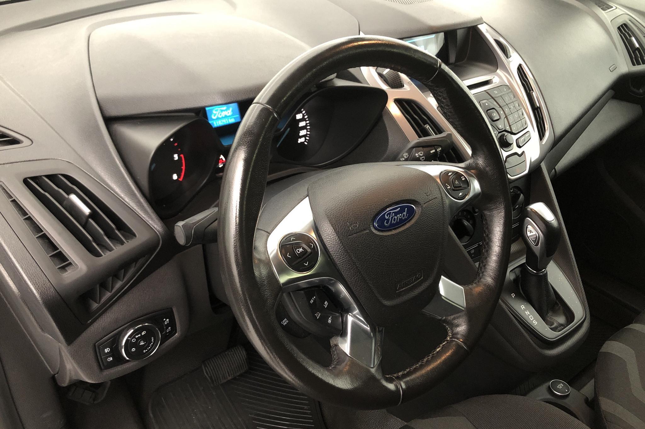 Ford Transit Connect 1.5 TDCi (120hk) - 11 829 mil - Automat - vit - 2016