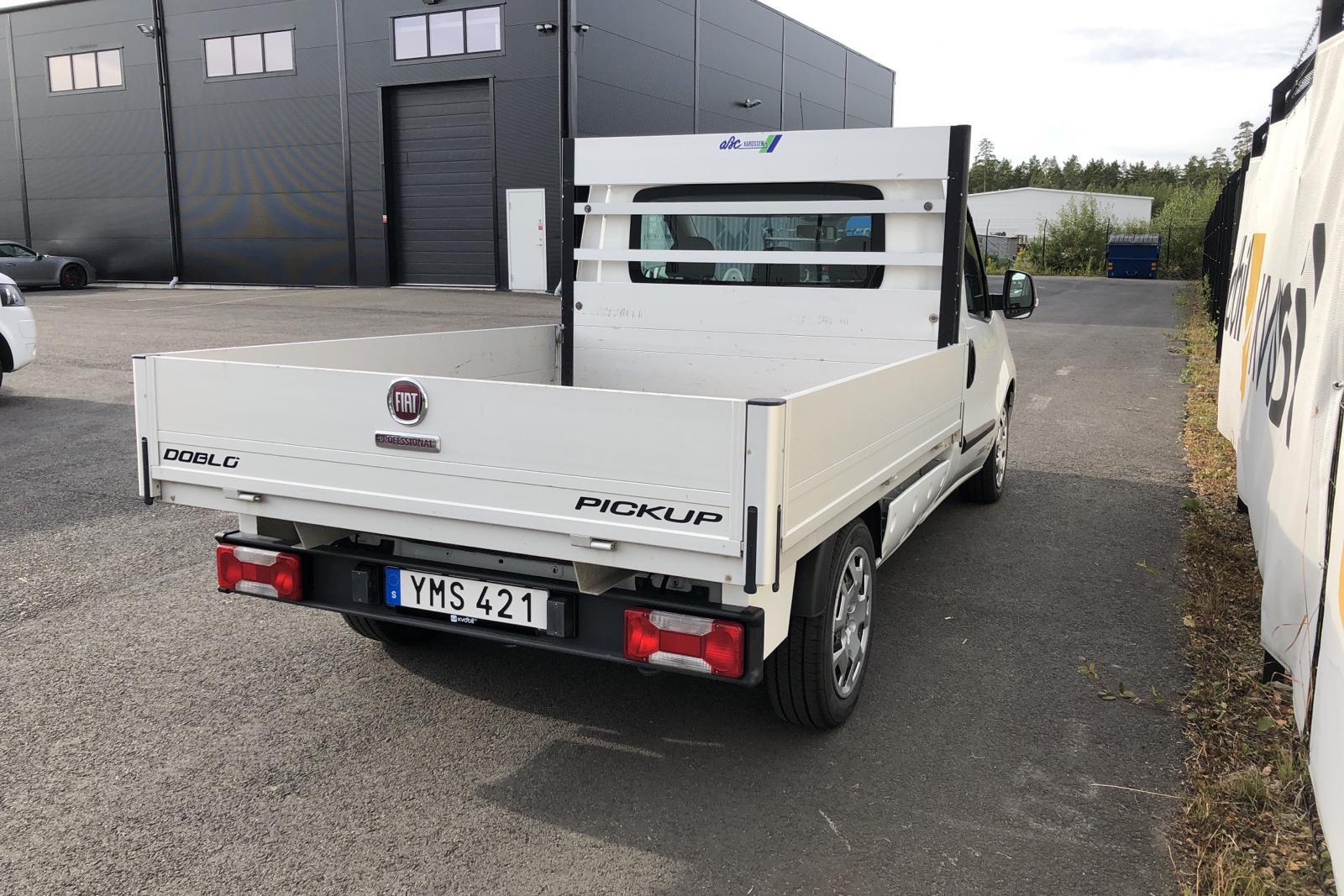 Fiat Doblo Work Up 1.6 MJT (105hk) - 4 054 mil - Manuell - vit - 2018