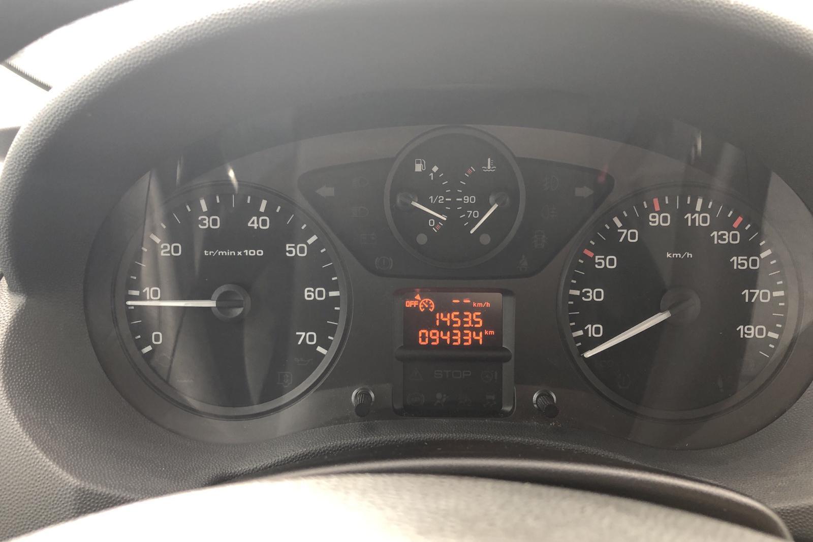 Toyota PROACE 2.0 D-4D (128hk) - 9 433 mil - Manuell - vit - 2014