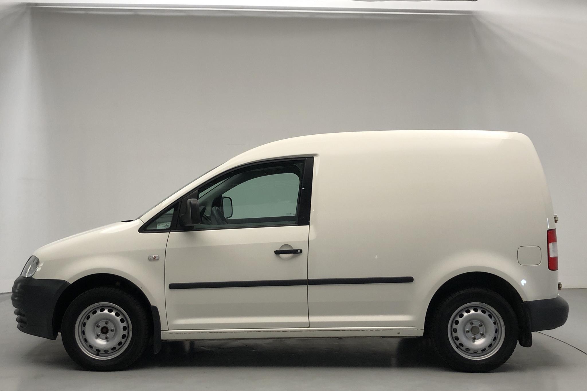VW Caddy 1.9 TDI Skåp (105hk) - 133 040 km - Manual - white - 2010