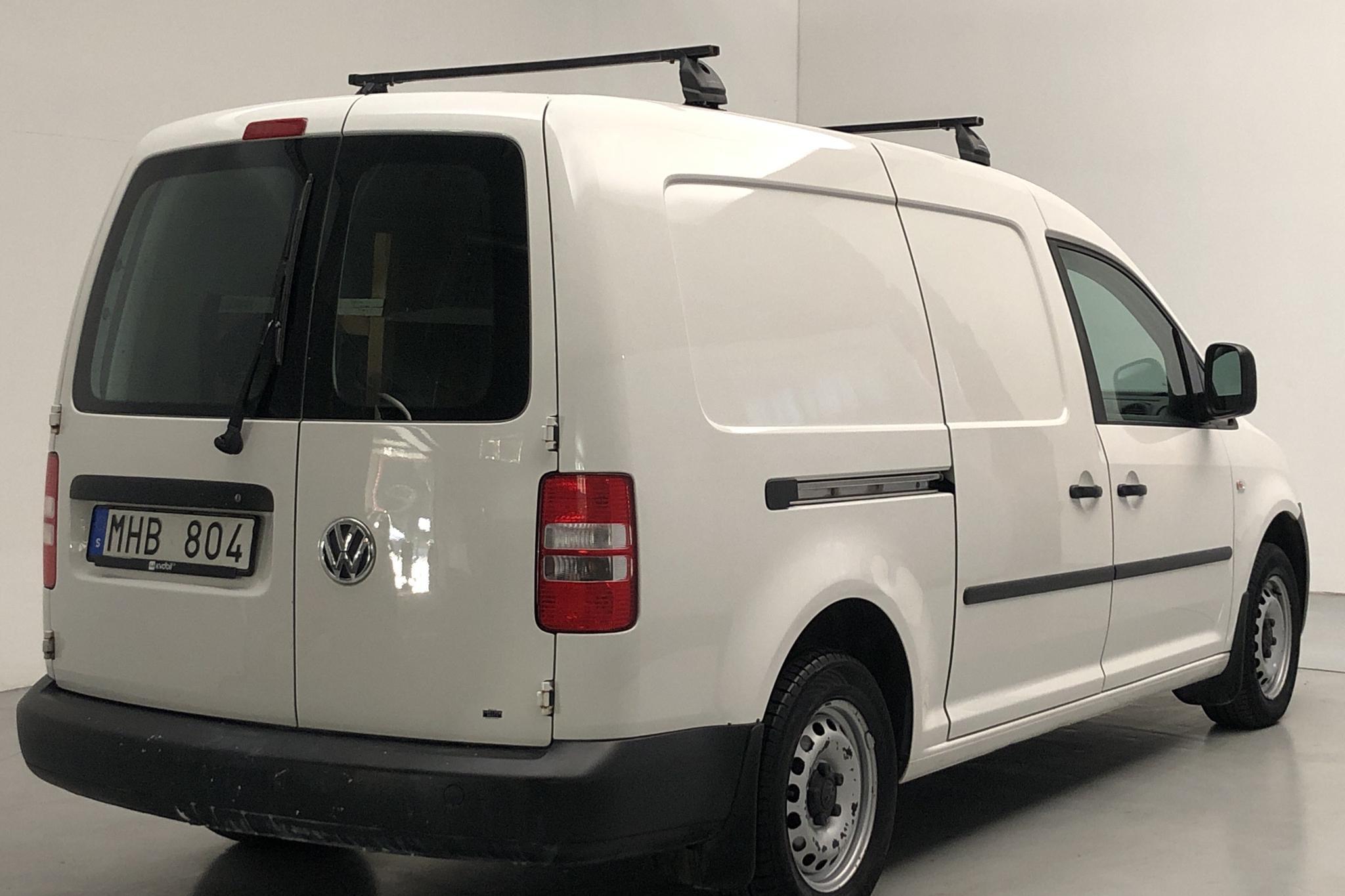 VW Caddy 1.6 TDI Maxi Skåp (102hk) - 129 880 km - Manual - white - 2012