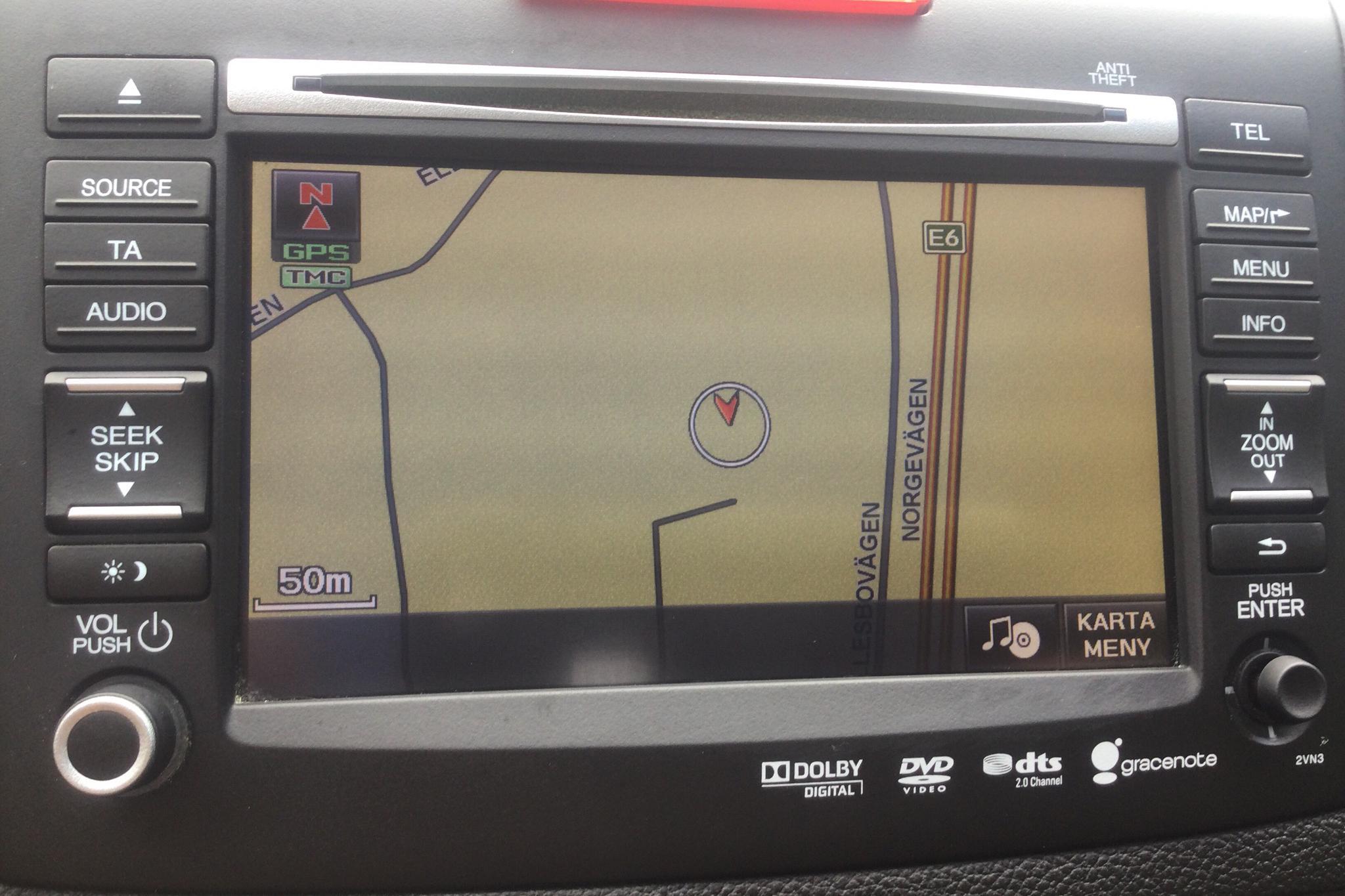 Honda CR-V 2.2 i-DTEC 4WD (150hk) - 118 740 km - Automatic - red - 2013