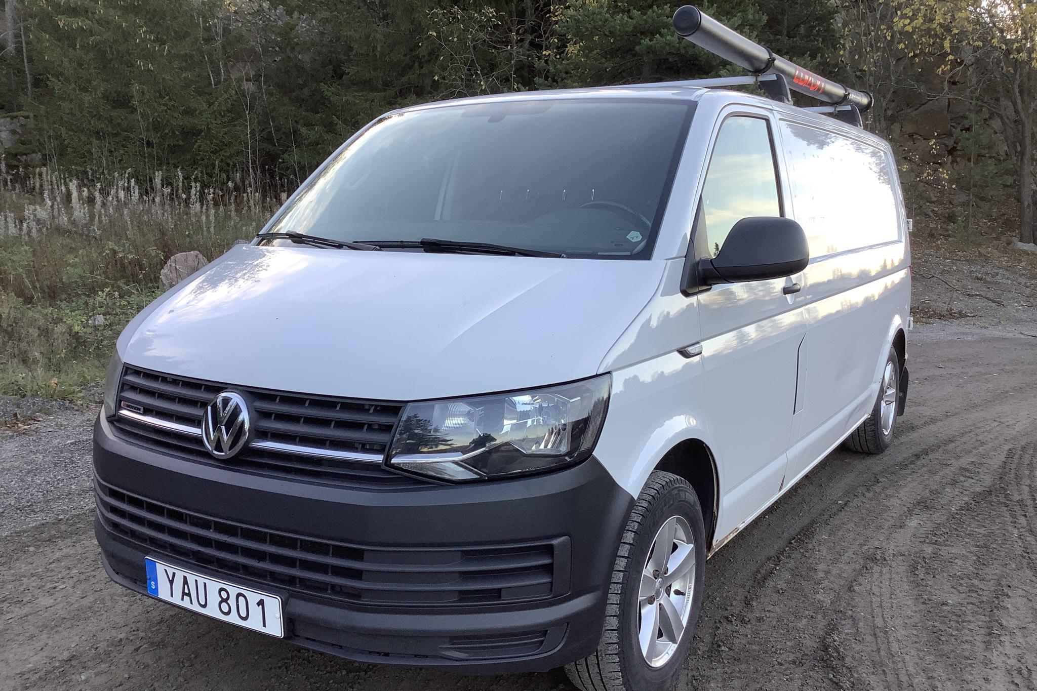 VW Transporter T6 2.0 TDI BMT Skåp 4MOTION (140hk) - 13 278 mil - Manuell - vit - 2016