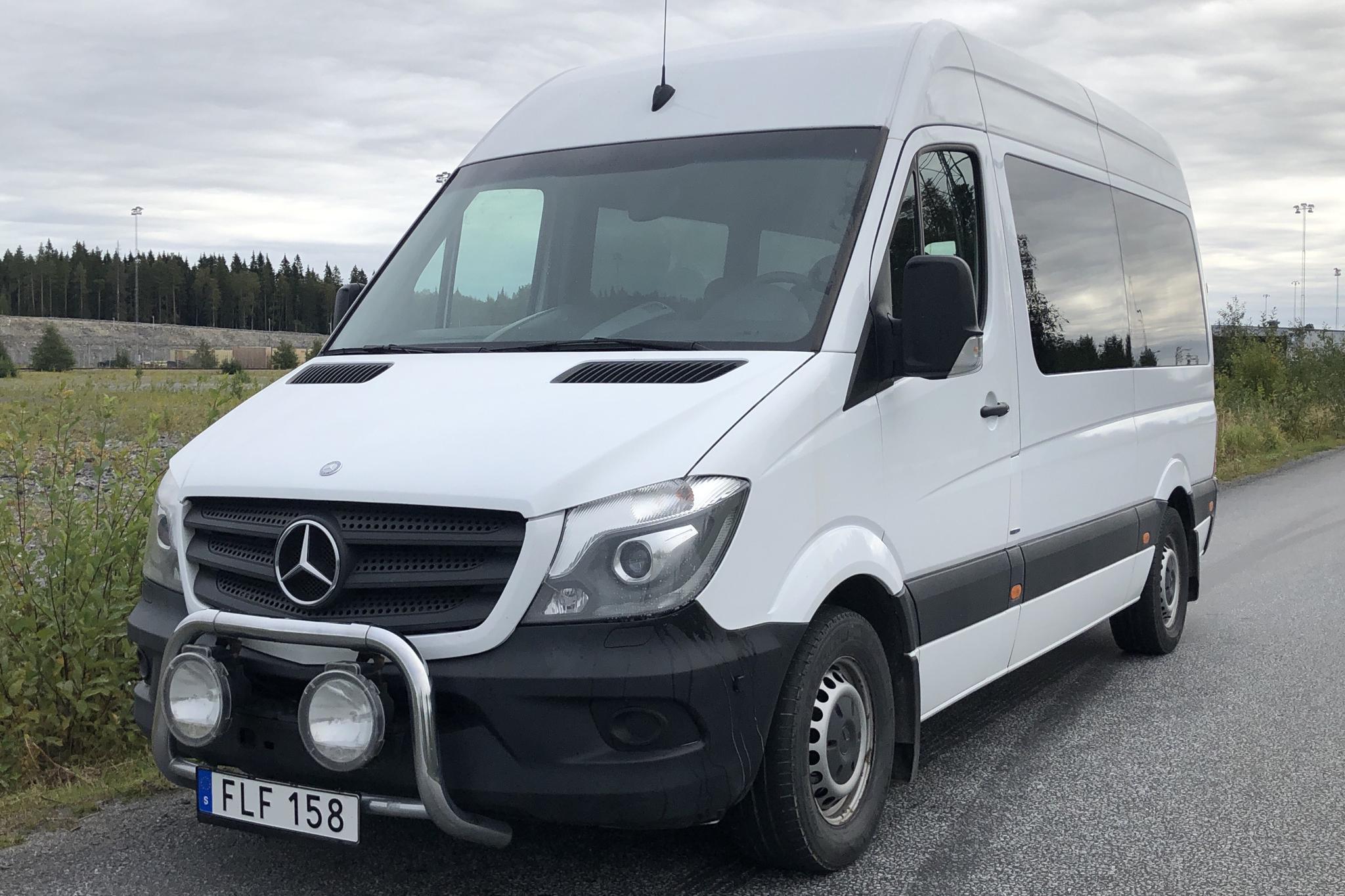 Mercedes Sprinter 316 CDI (163hk) - 303 690 km - Automatic - white - 2015