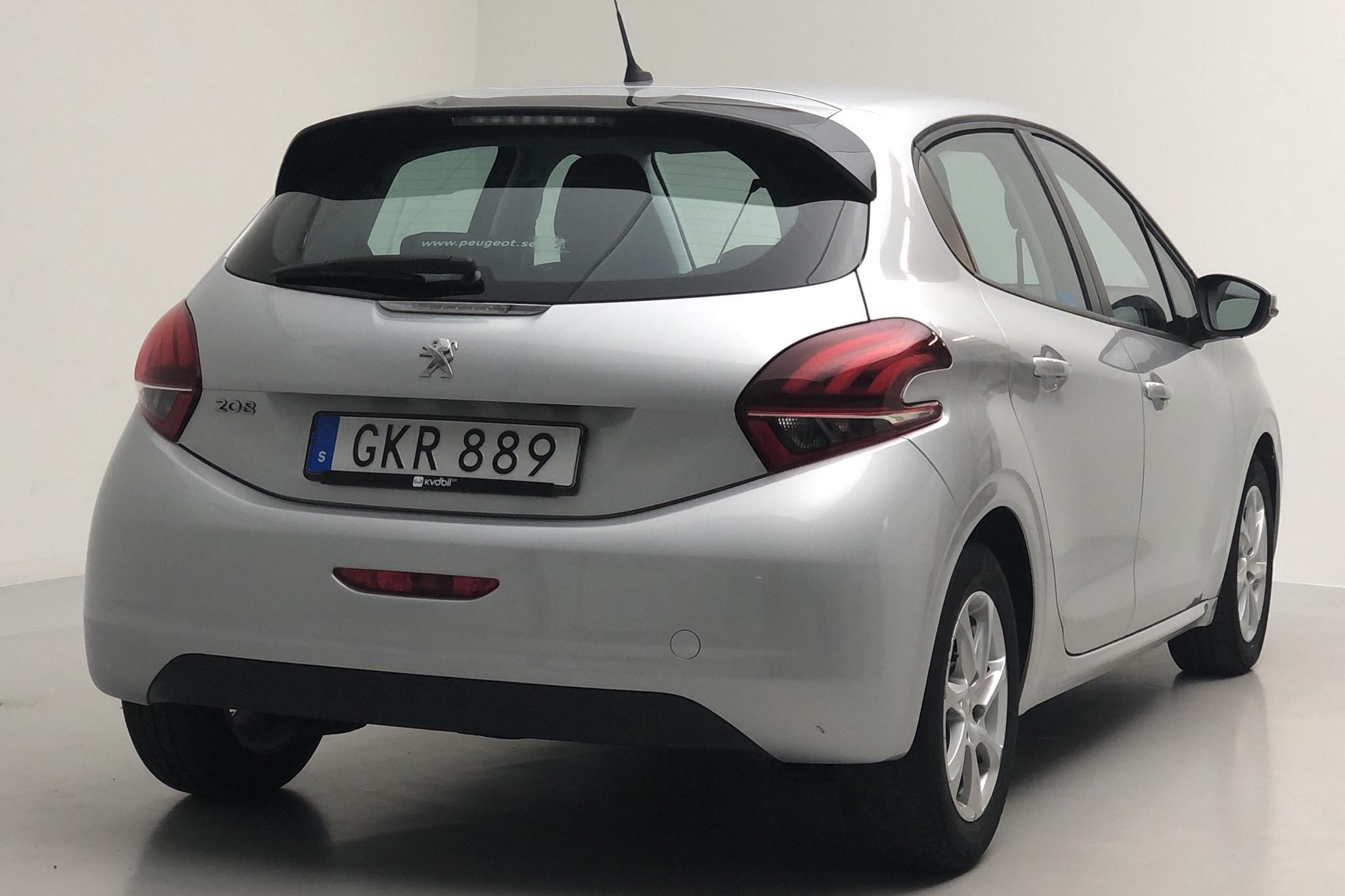Peugeot 208 BlueHDi 5dr (100hk) - 3 748 mil - Manuell - Light Grey - 2017