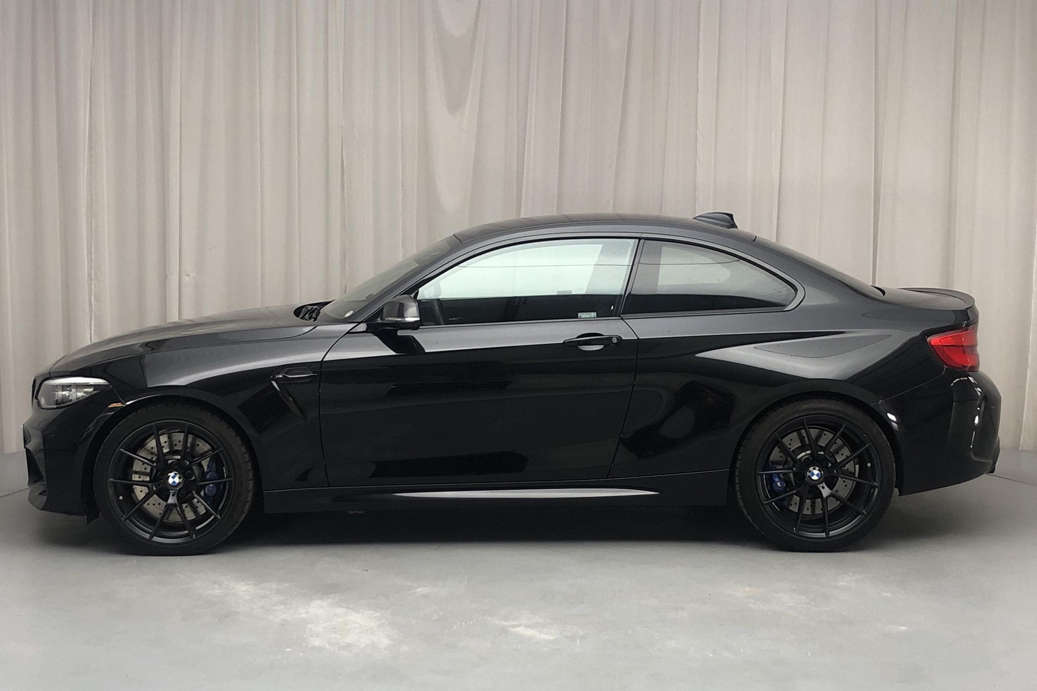 BMW M2 Coupé, F87 (370hk) - 1 327 mil - Automat - svart - 2018