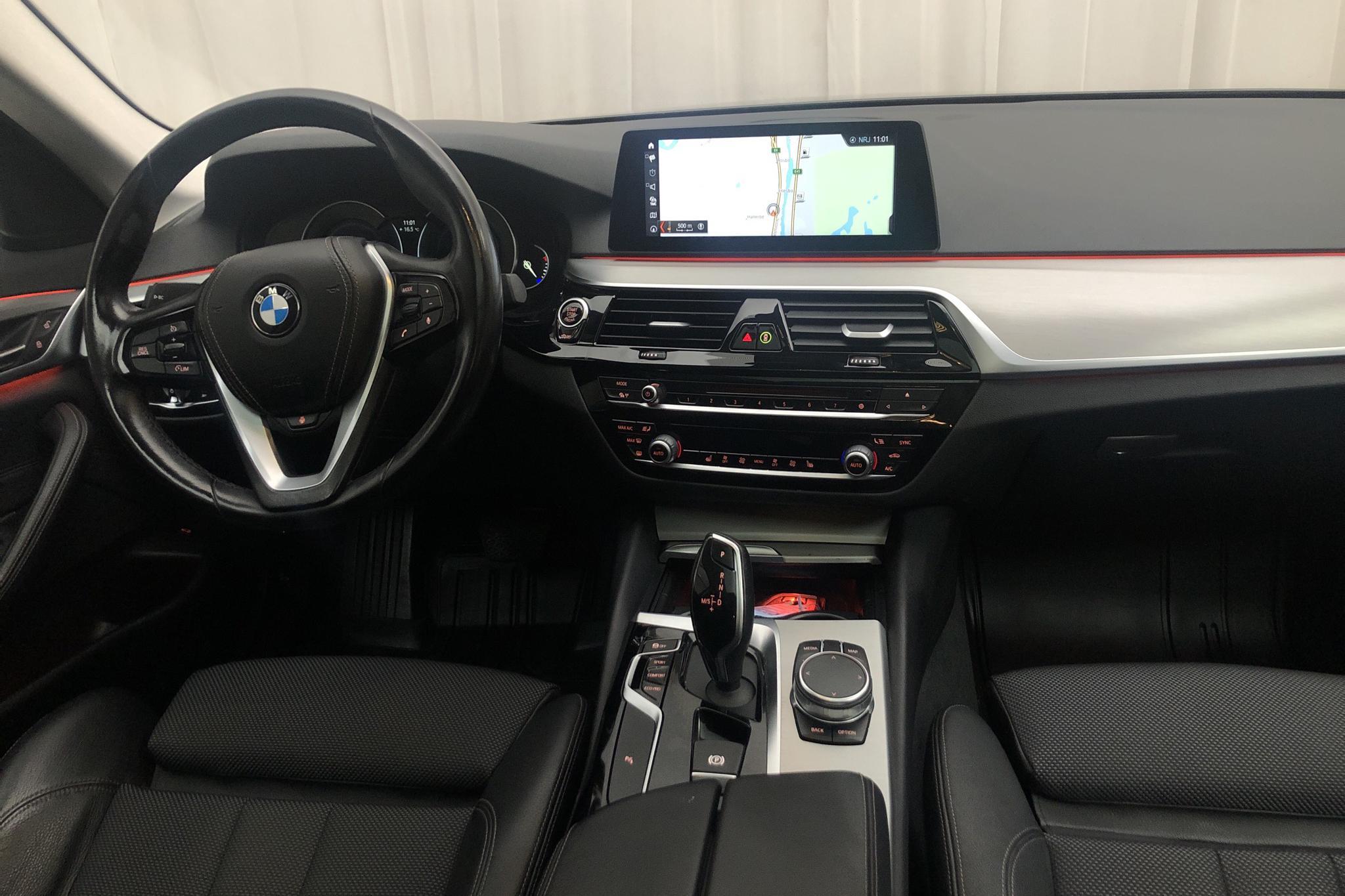 BMW 520d Sedan, G30 (190hk) - 9 724 mil - Automat - svart - 2018