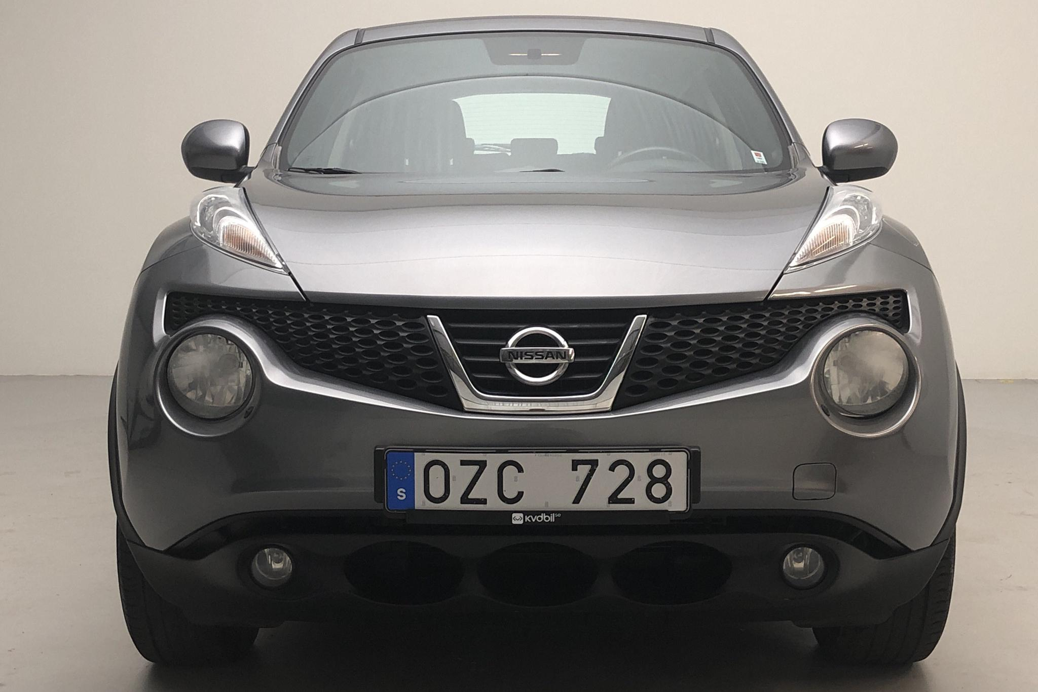 Nissan Juke 1.6 (117hk) - 52 660 km - Manual - gray - 2012