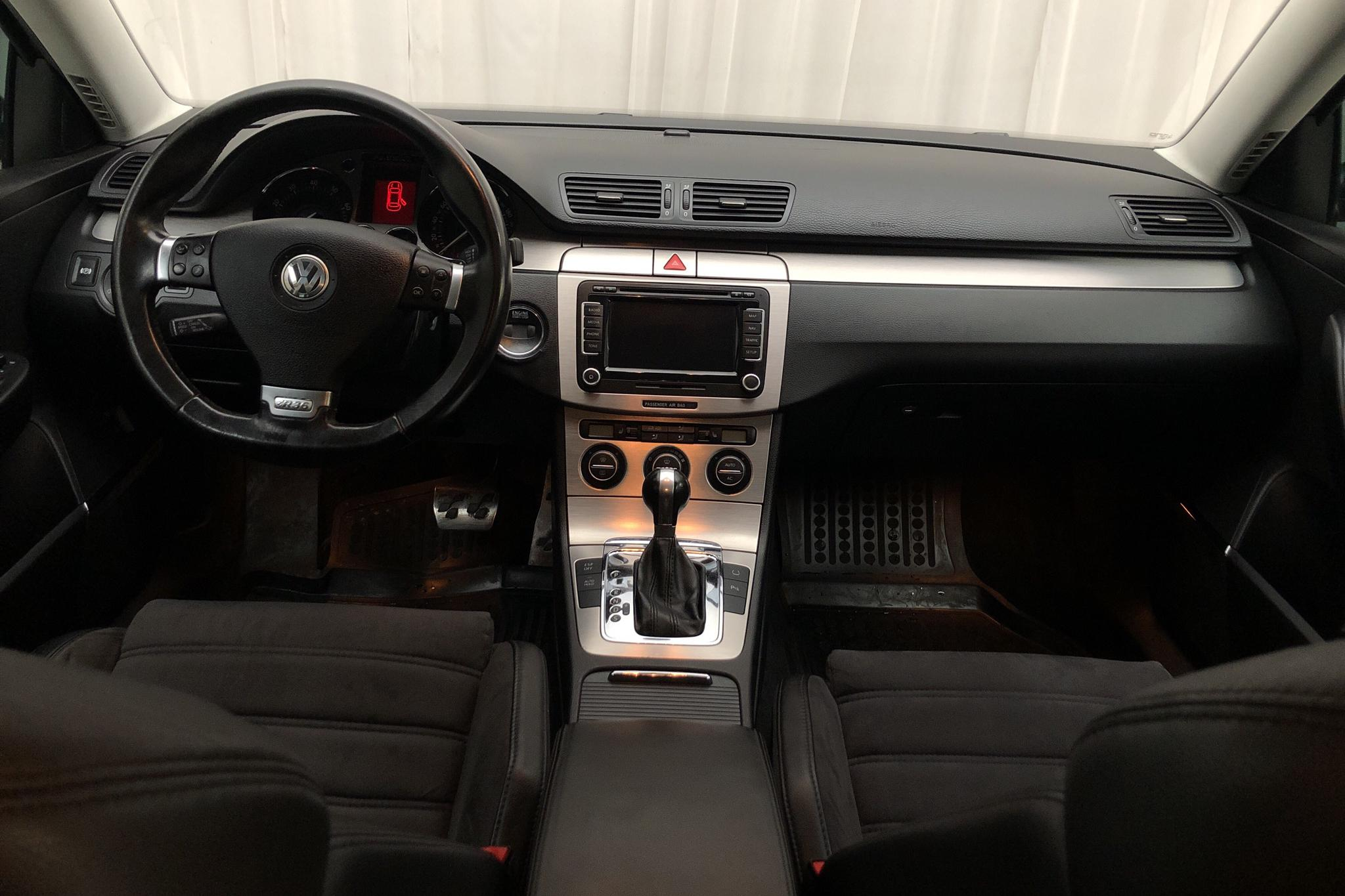VW Passat R36 Variant (300hk) - 139 720 km - Automatic - black - 2008