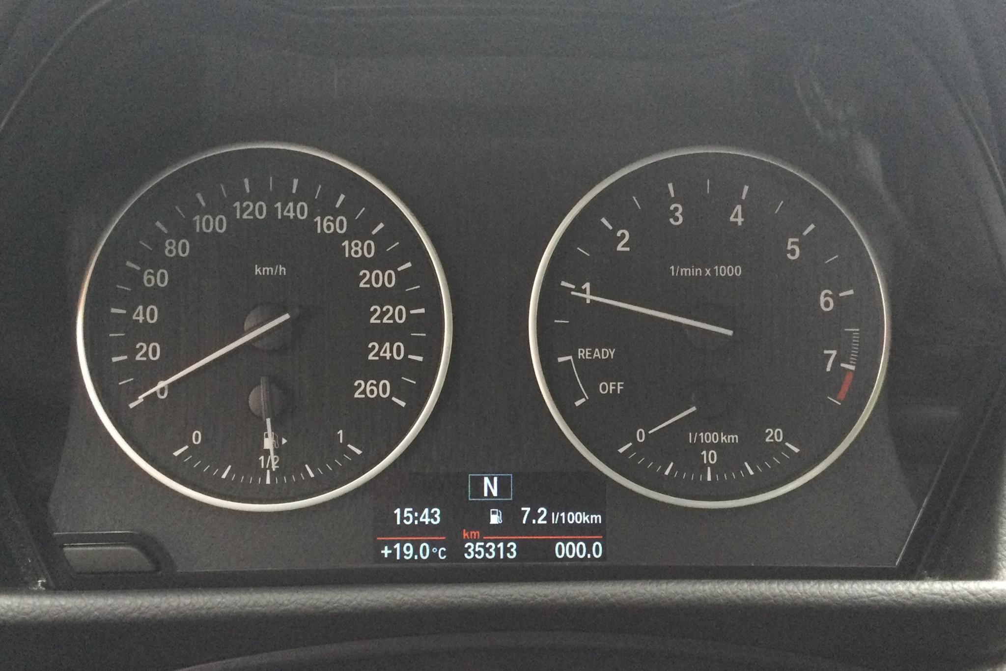 BMW 218i Active Tourer, F45 (136hk) - 3 531 mil - Manuell - vit - 2017