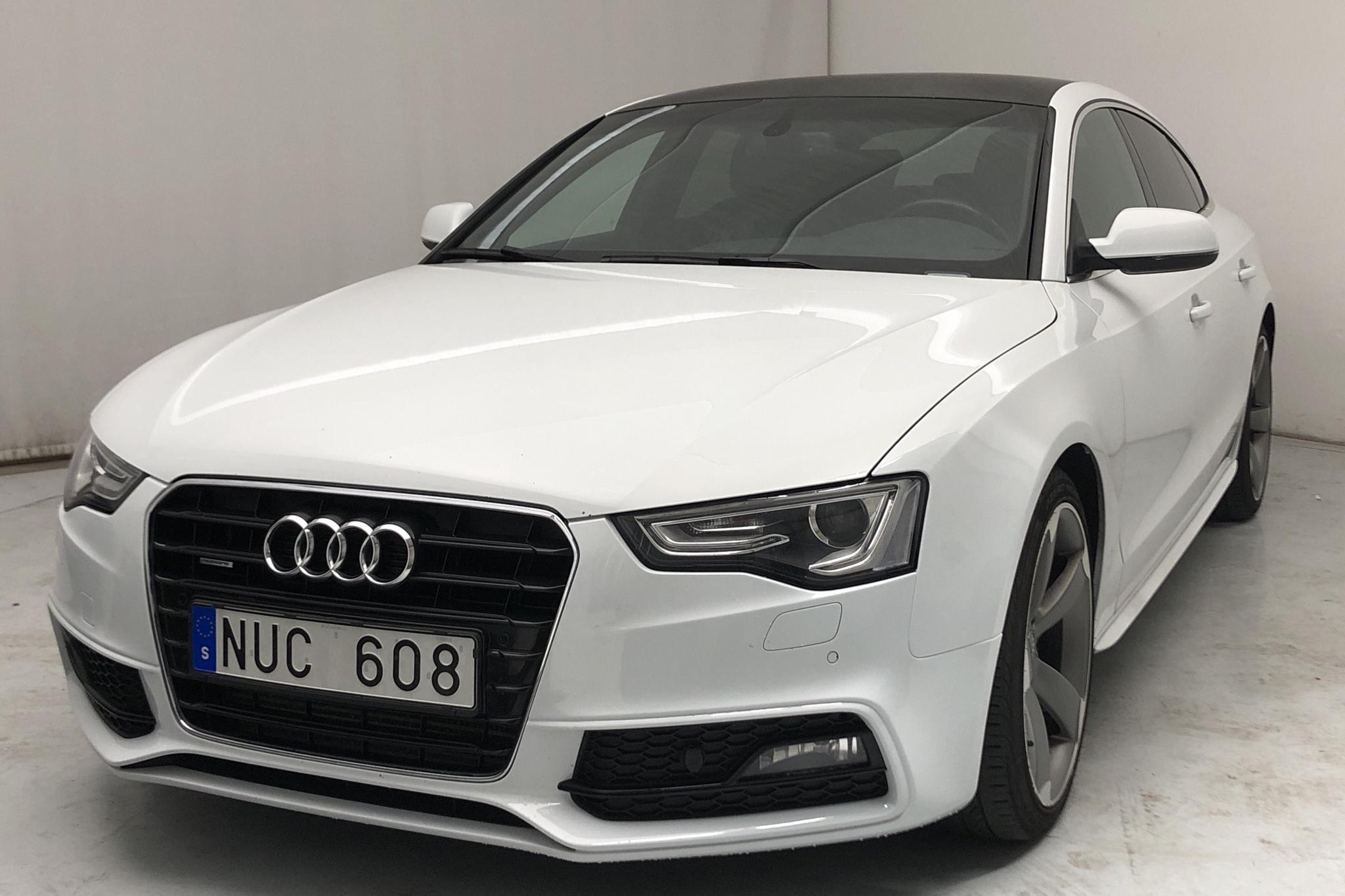 Audi A5 2.0 TFSI Sportback quattro (211hk) - 100 550 km - Automatic - white - 2012