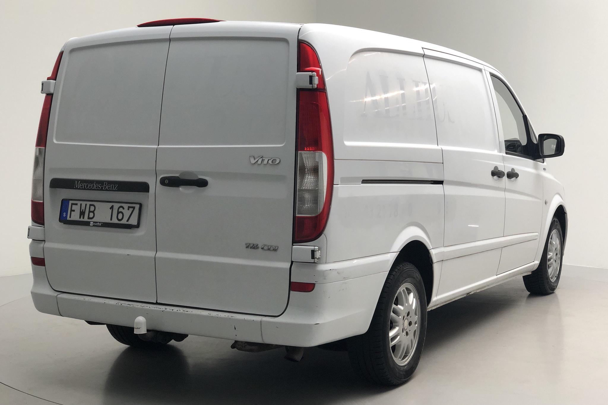 Mercedes Vito 116 CDI W639 (163hk) - 13 357 mil - Manuell - vit - 2011