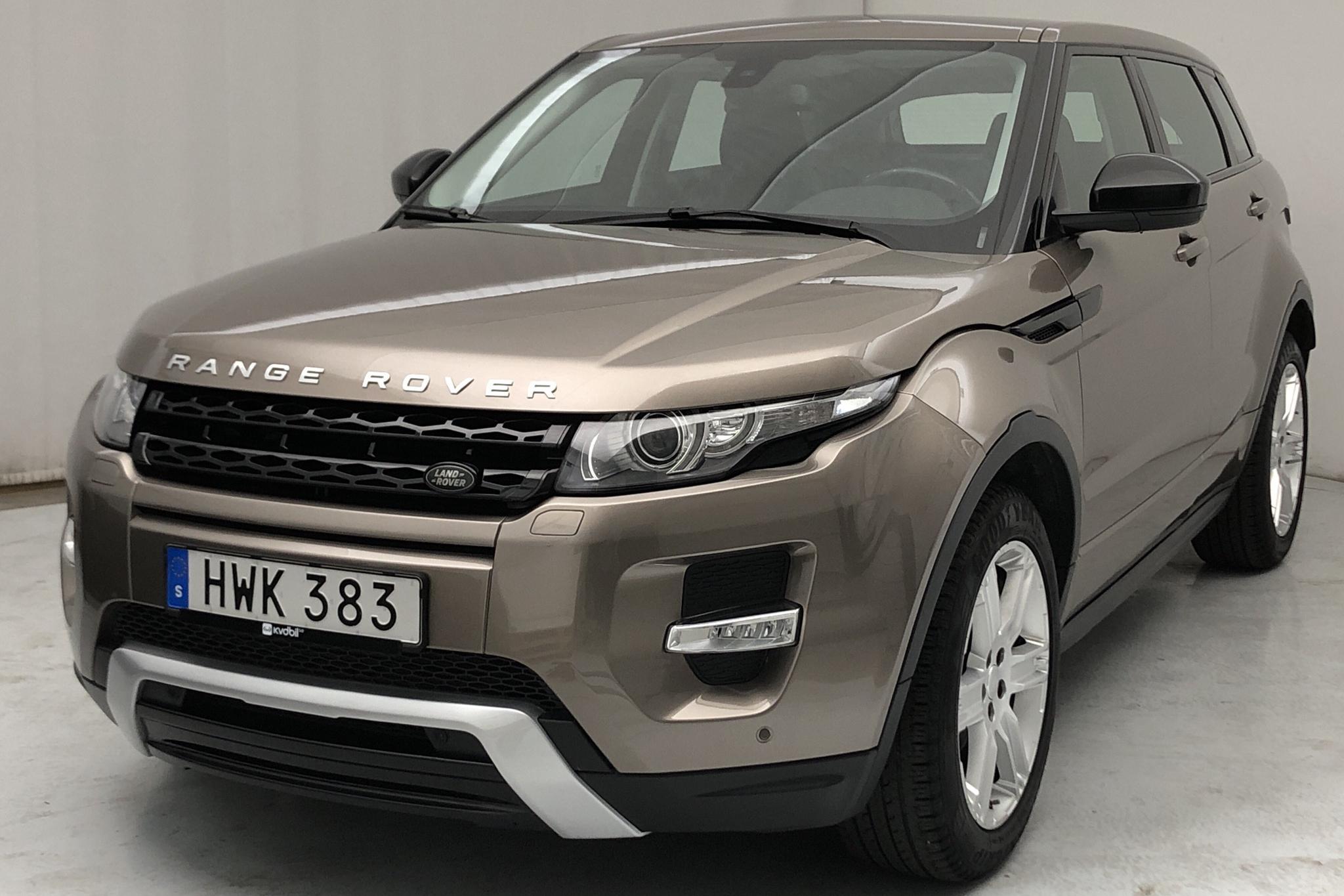 Land Rover Range Rover Evoque 2.2 SD4 5dr (190hk) - 11 021 mil - Automat - grå - 2015
