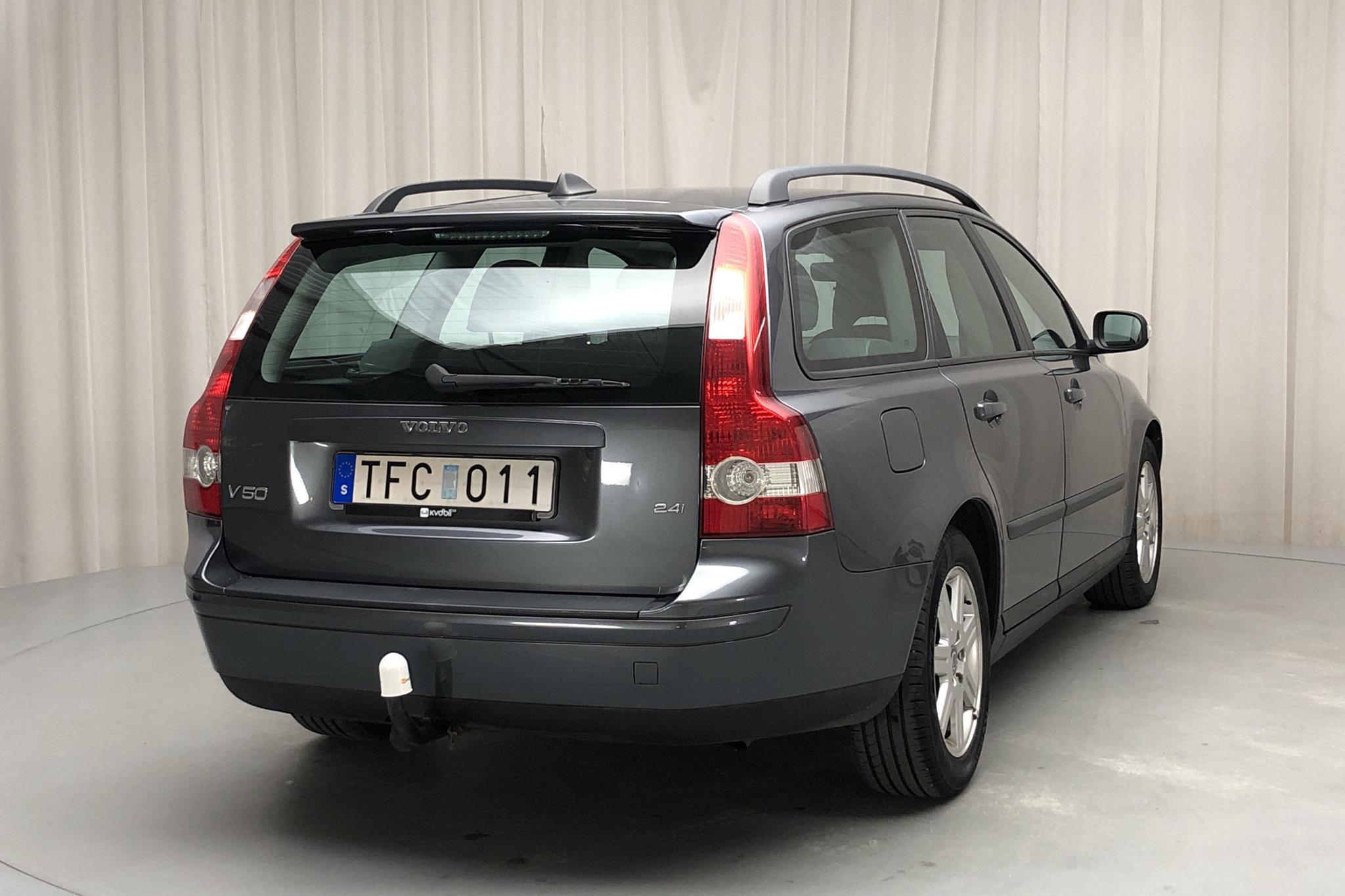 Volvo V50 2.4i (170hk) - 13 348 mil - Automat - grå - 2007