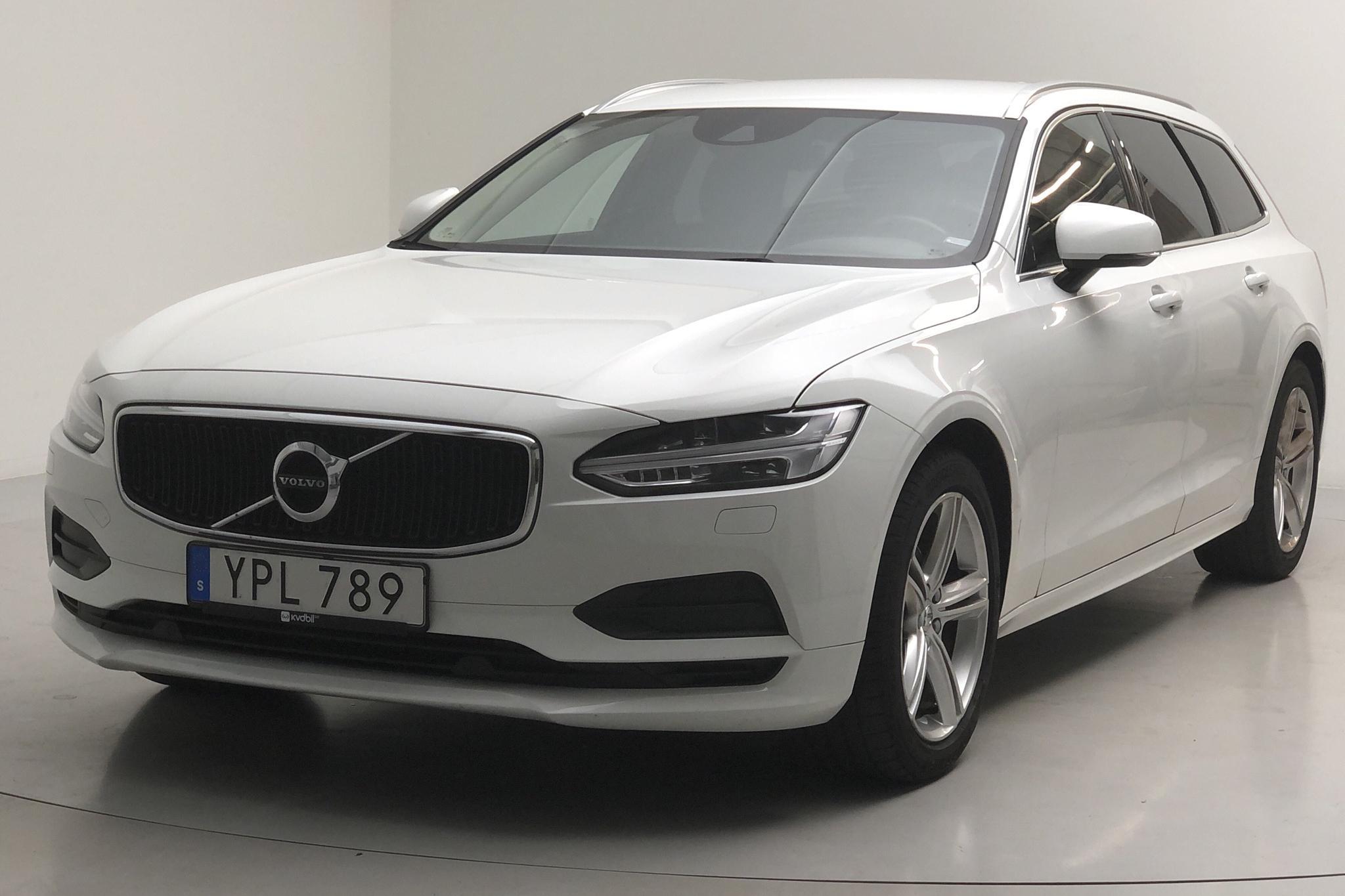 Volvo V90 D4 (190hk) - 9 241 mil - Automat - vit - 2019