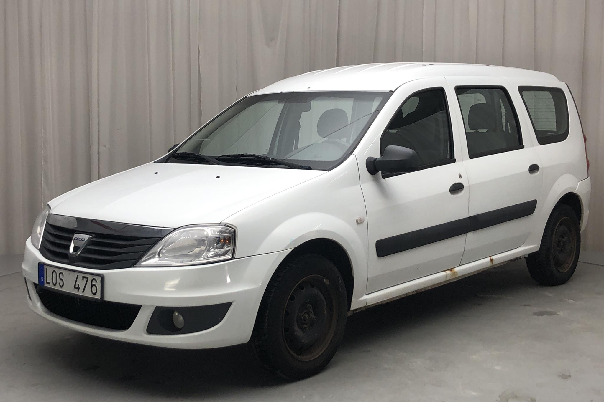 Dacia Logan MCV 1.6 E85 Hi-Flex (105hk) - 307 160 km - Manual - white - 2011