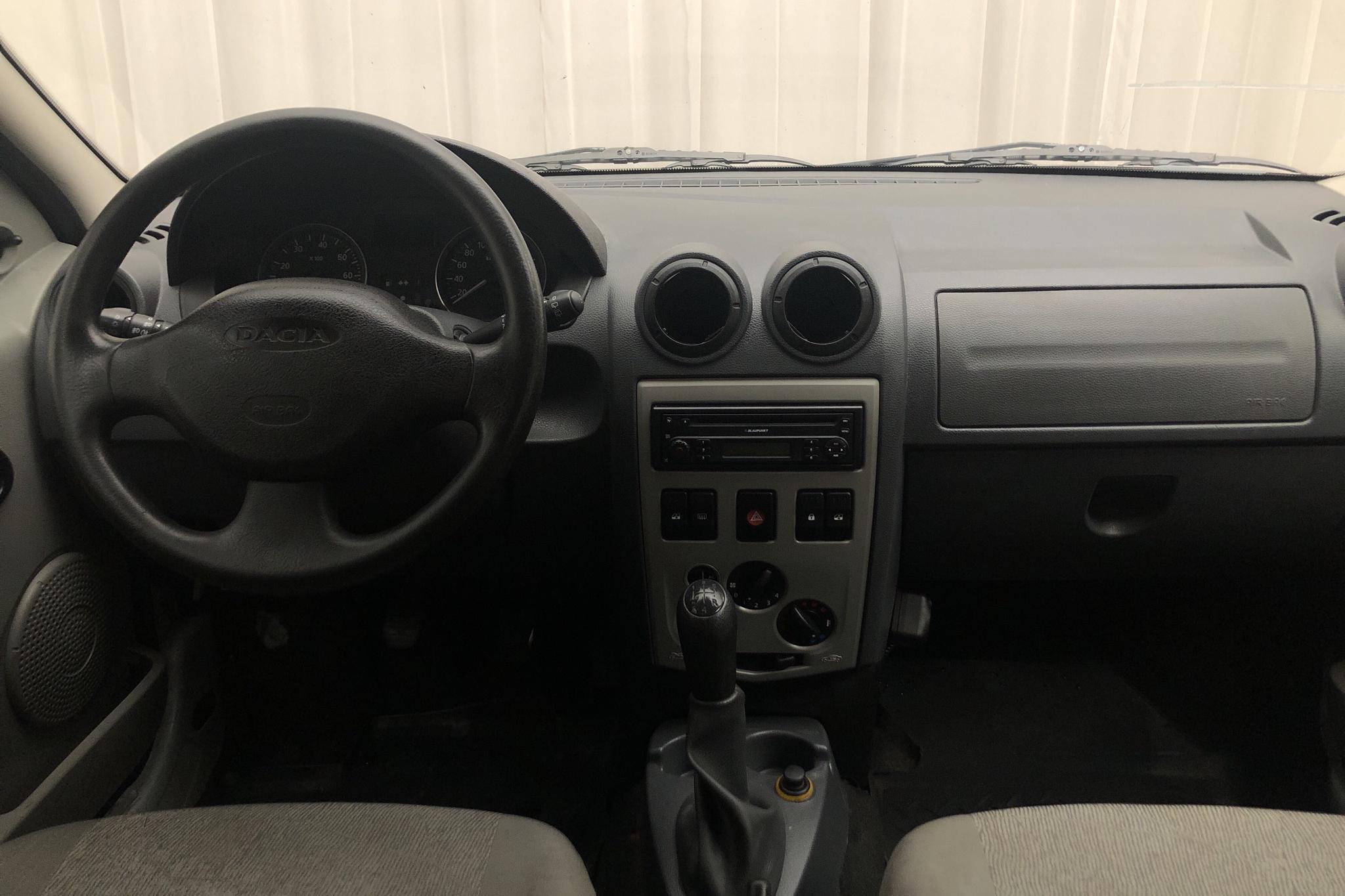 Dacia Logan MCV 1.6 E85 Hi-Flex (105hk) - 30 716 mil - Manuell - vit - 2011