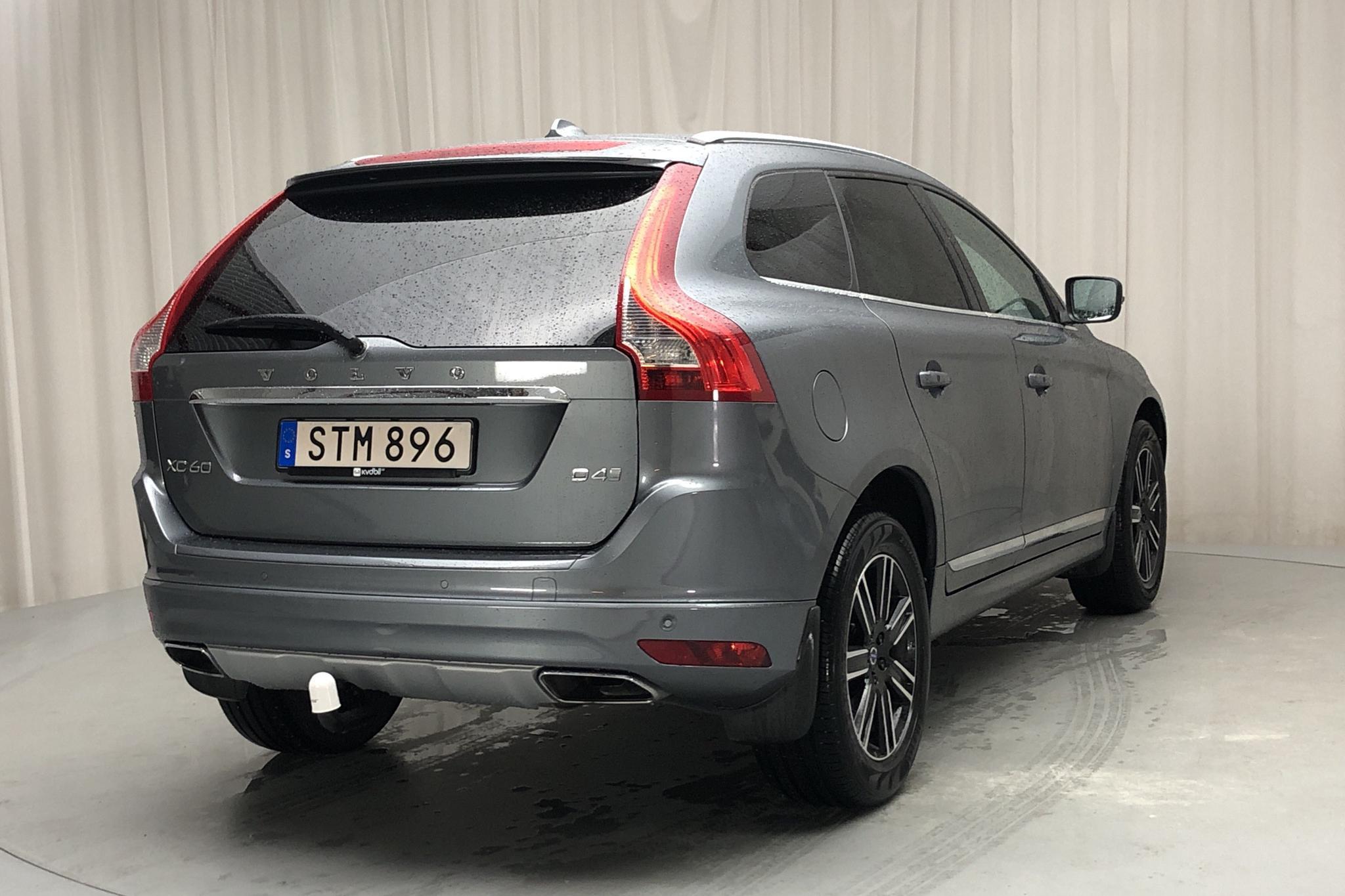 Volvo XC60 D4 2WD (190hk) - 12 035 mil - Automat - grå - 2017