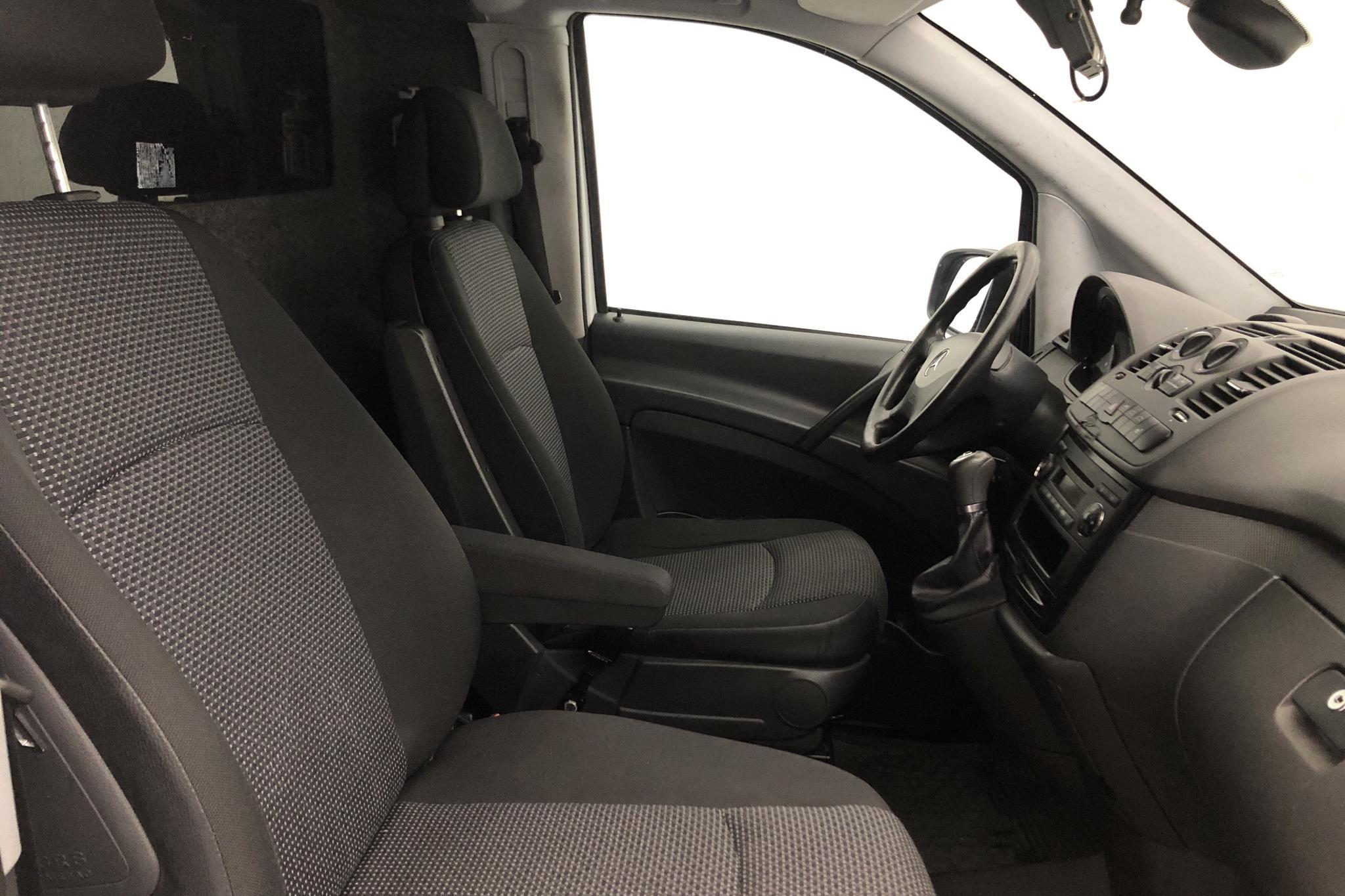 Mercedes Vito 116 CDI W639 (163hk) - 255 870 km - Automatic - white - 2014