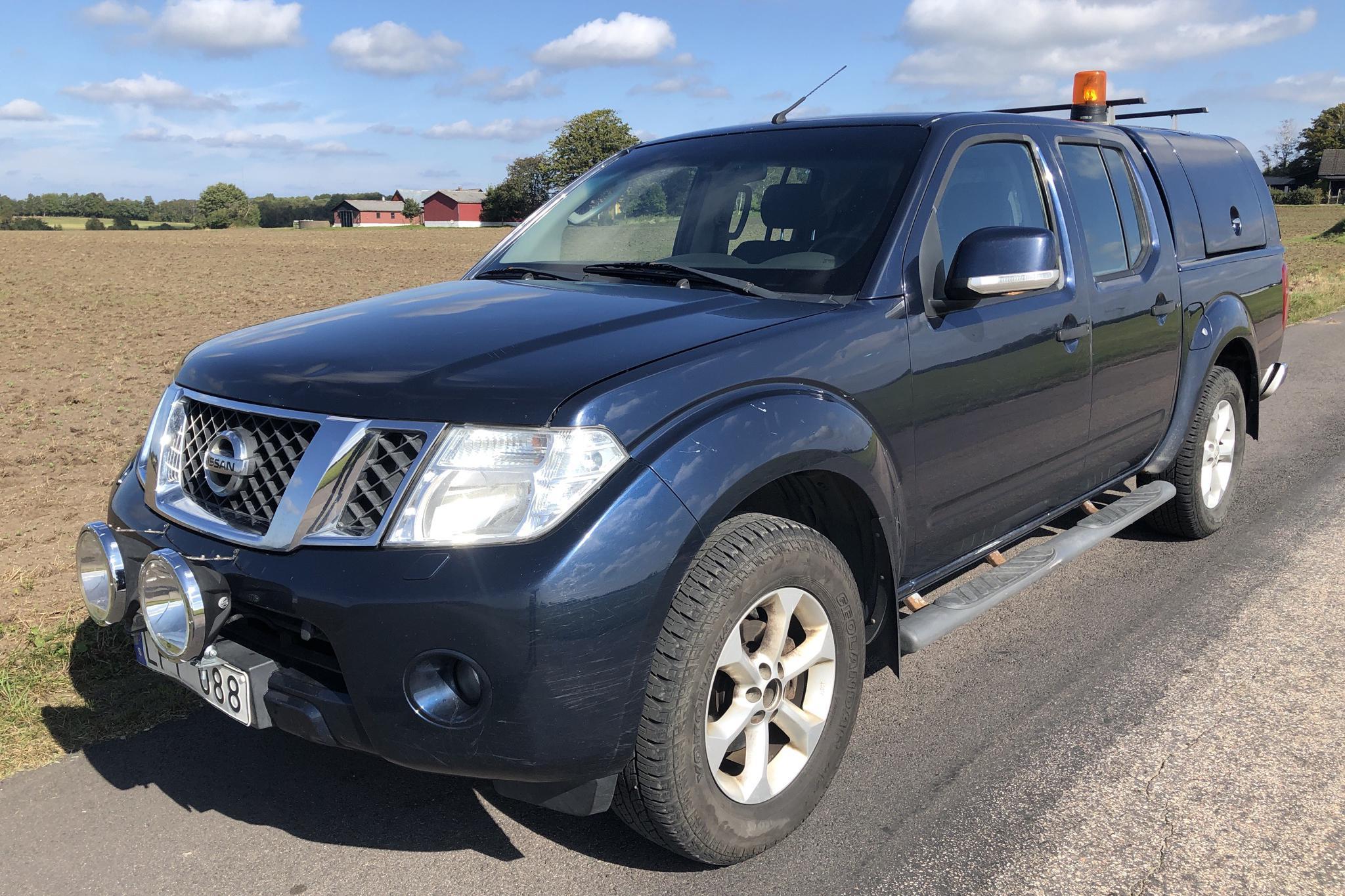 Nissan Navara 2.5 dCi (190hk) - 21 478 mil - Automat - Dark Blue - 2011