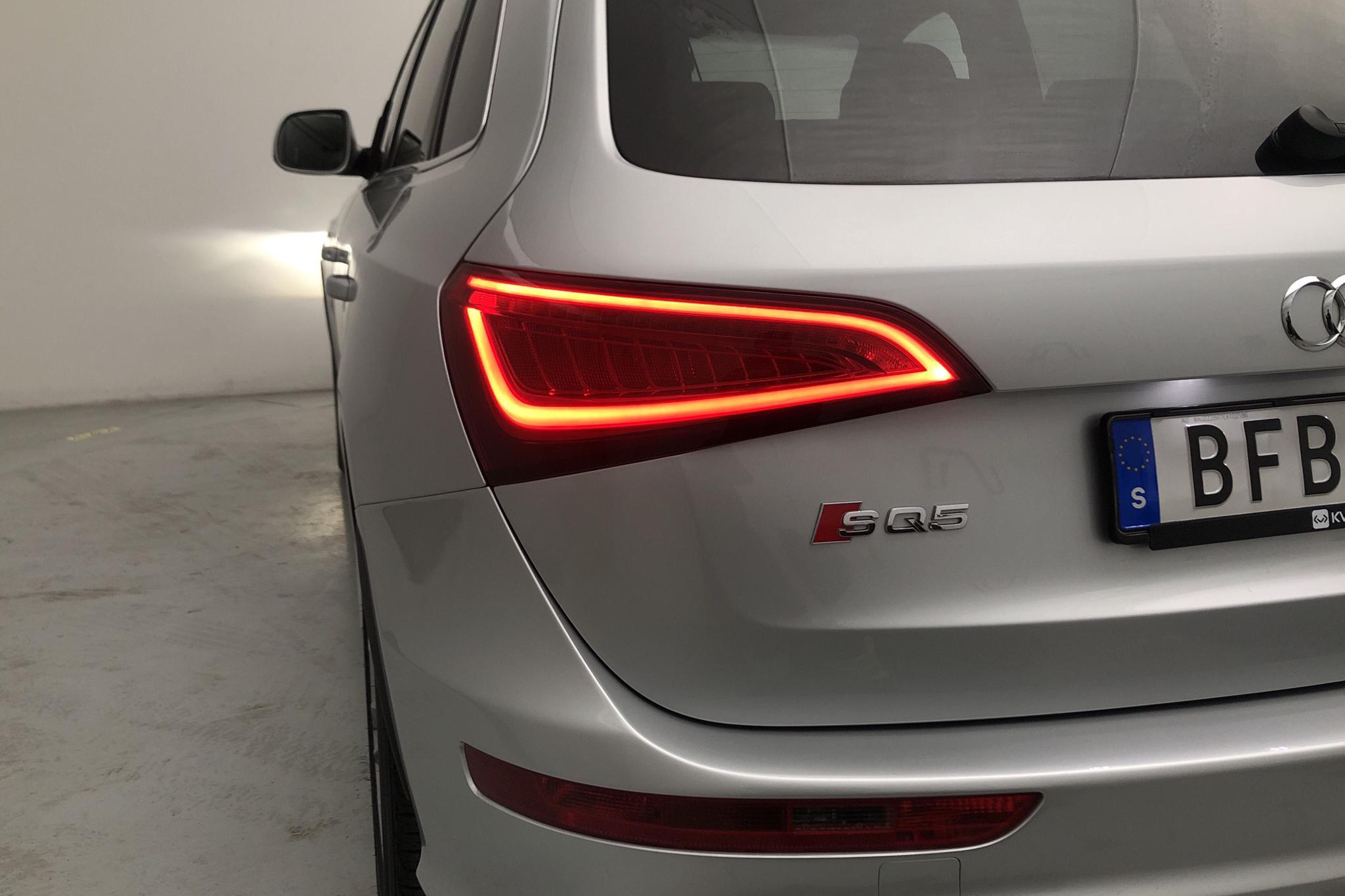 Audi SQ5 3.0 TDI quattro (313hk) - 11 456 mil - Automat - silver - 2014