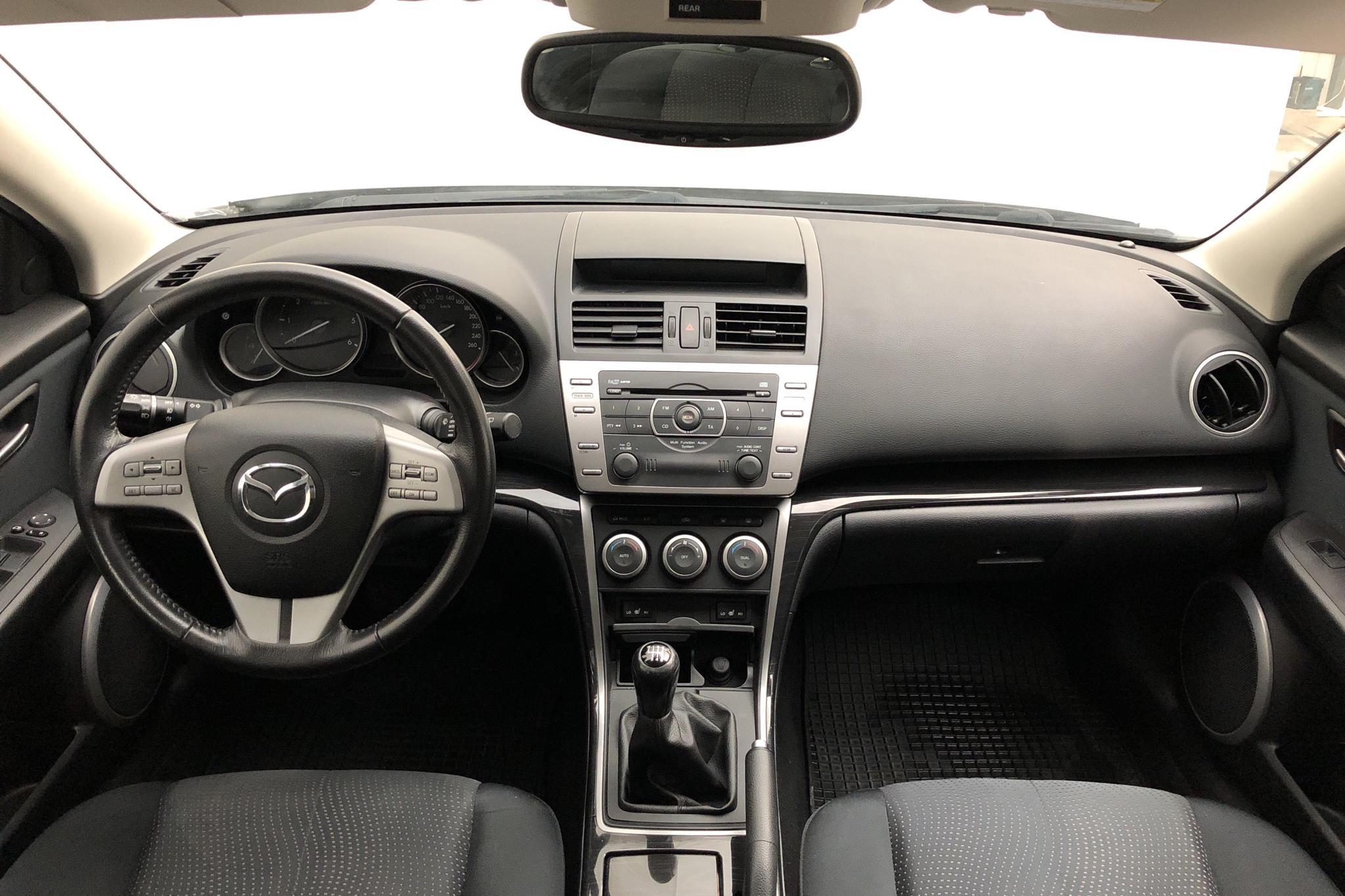 Mazda 6 2.2 D Kombi (163hk) - 13 280 mil - Manuell - grå - 2010