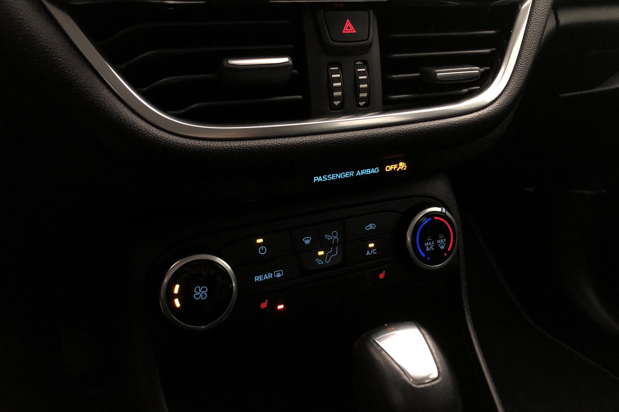 Ford Fiesta 1.0T EcoBoost 5dr (100hk) - 3 853 mil - Automat - vit - 2018
