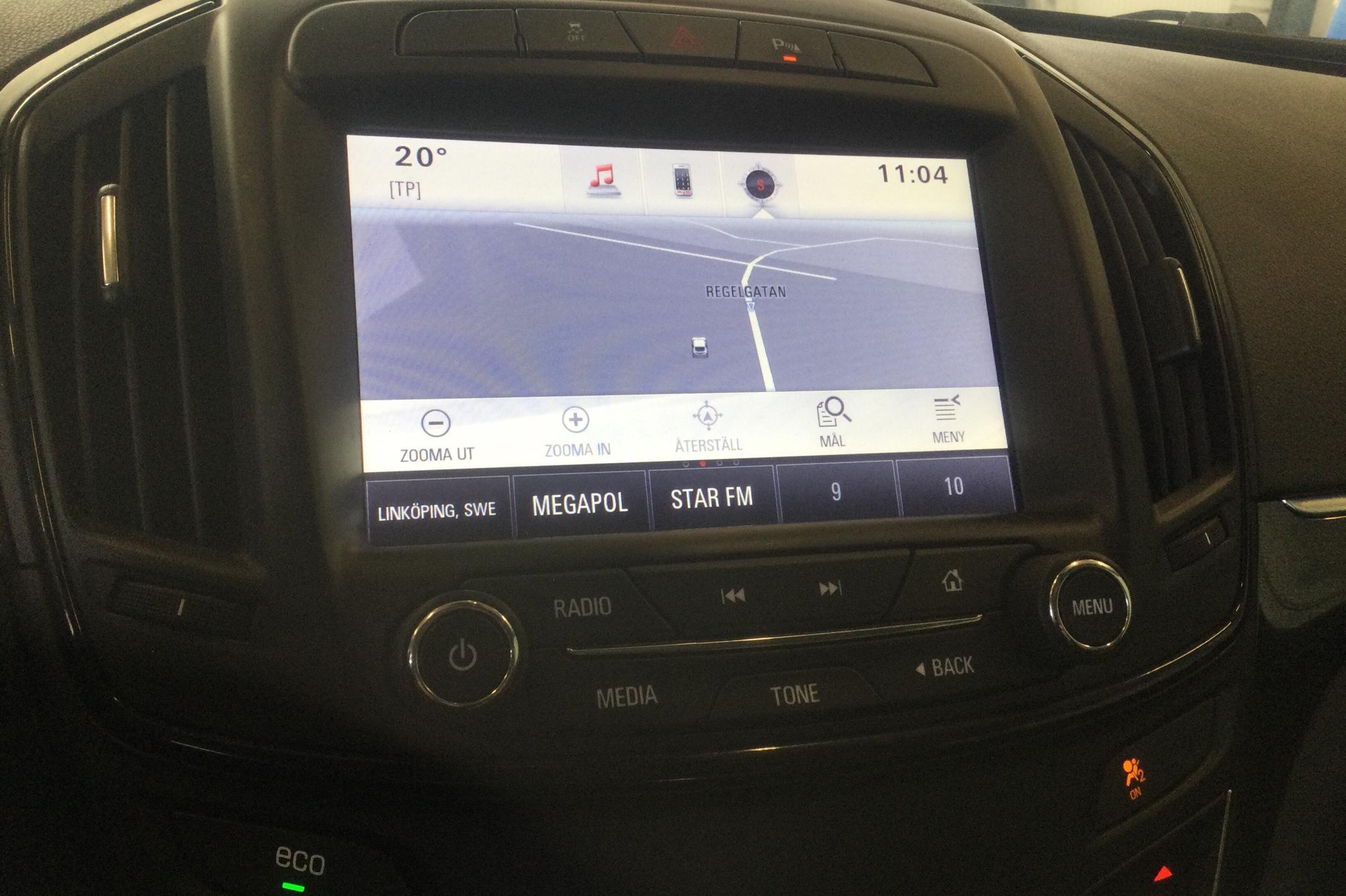 Opel Insignia 2.0 CDTI ecoFLEX Sports Tourer (140hk) - 13 372 mil - Manuell - vit - 2015