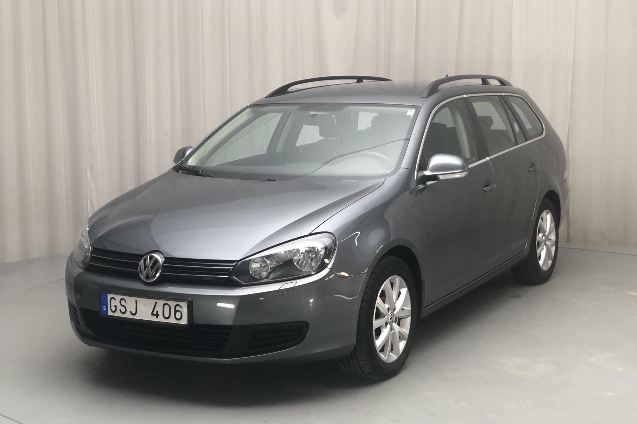VW Golf VI 1.6 TDI BlueMotion Technology Variant (105hk) - 98 720 km - Manual - Dark Grey - 2011
