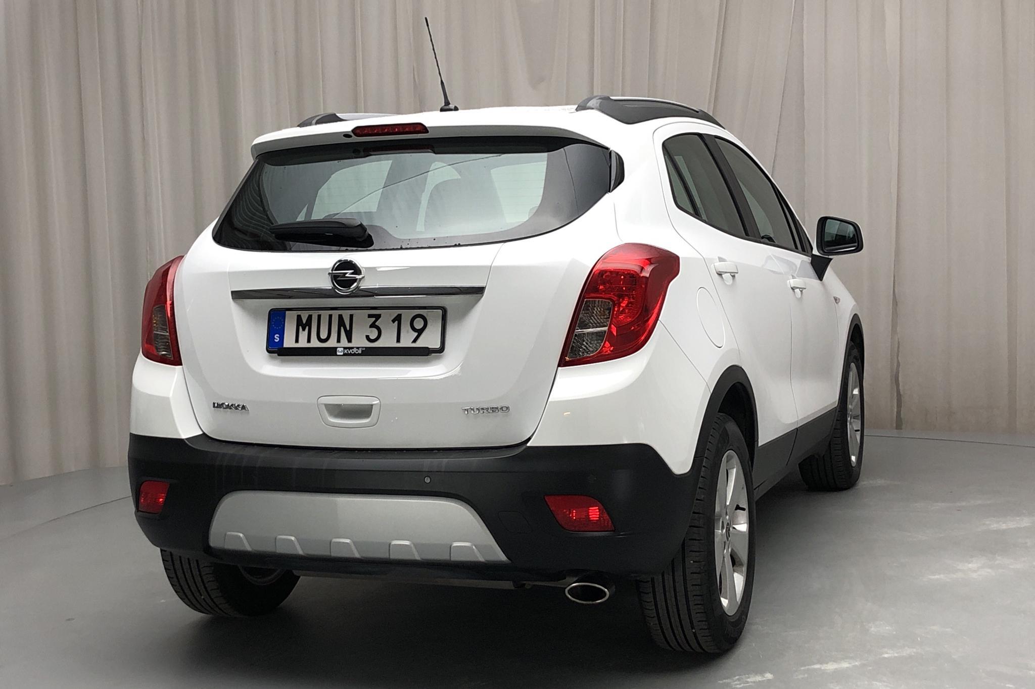 Opel Mokka 1.4 Turbo ECOTEC (140hk) - 11 901 mil - Manuell - vit - 2016