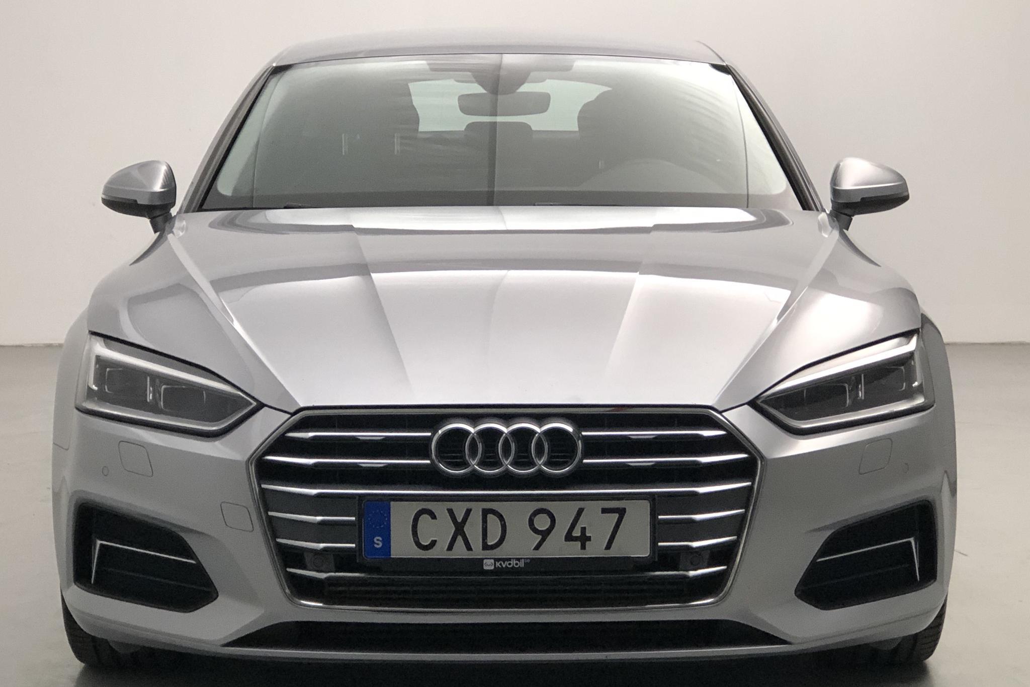 Audi A5 Sportback TFSI g-tron (170hk) - 116 700 km - Automatic - silver - 2018